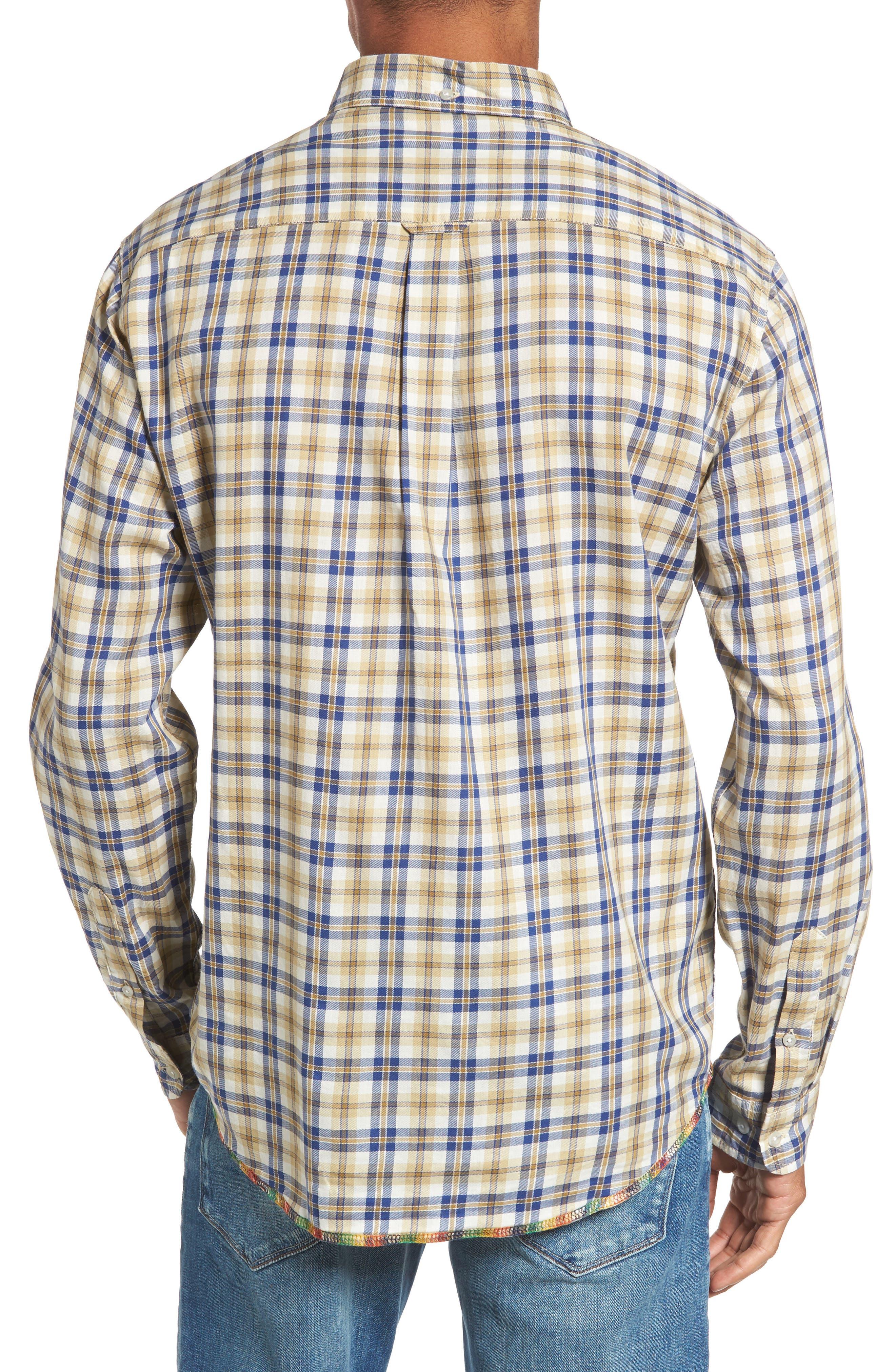 Alternate Image 2  - Vintage 1946 Plaid Sport Shirt