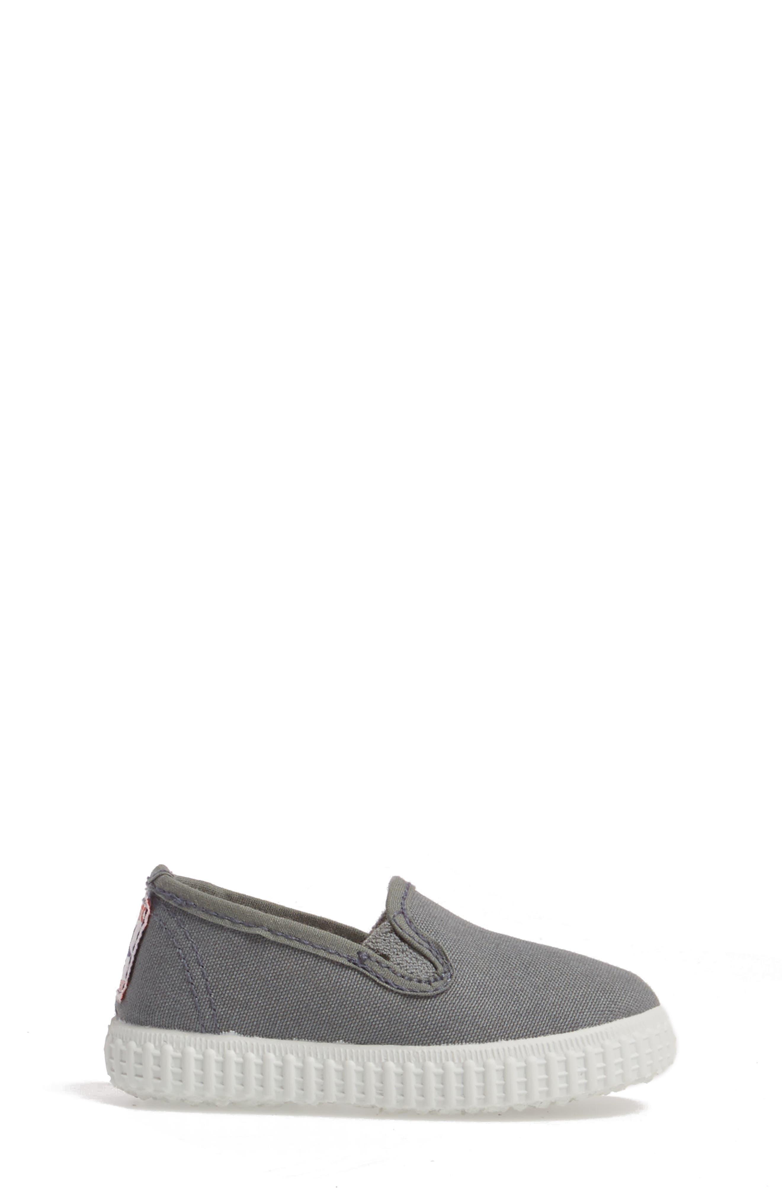 Slip-On Sneaker,                             Alternate thumbnail 3, color,                             Light Grey