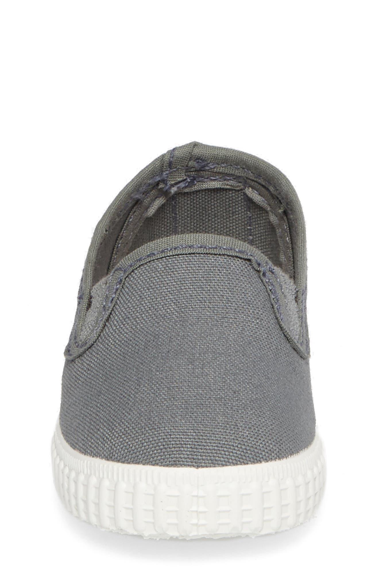 Slip-On Sneaker,                             Alternate thumbnail 4, color,                             Light Grey