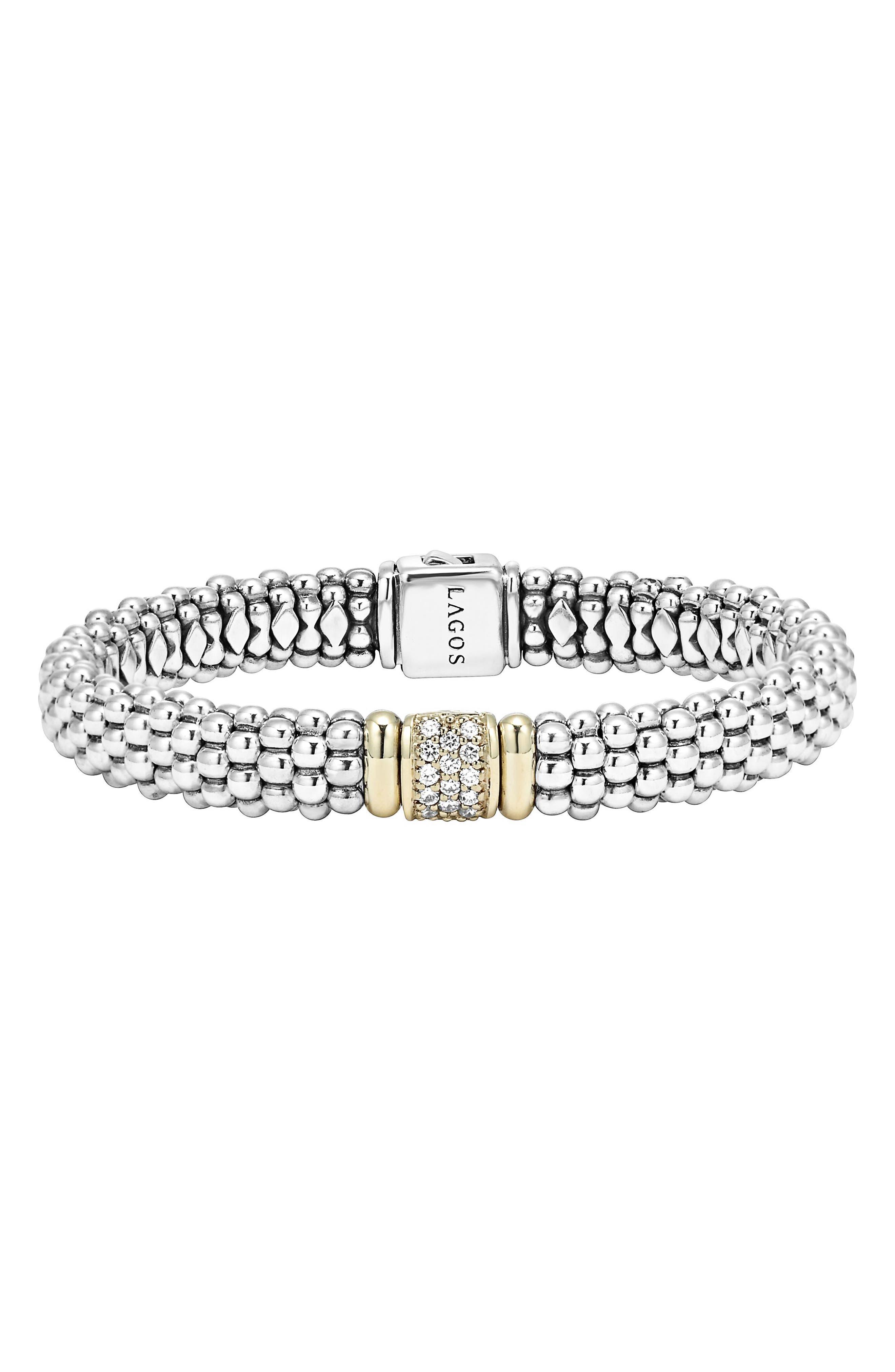 Main Image - LAGOS Caviar & Diamond Bracelet