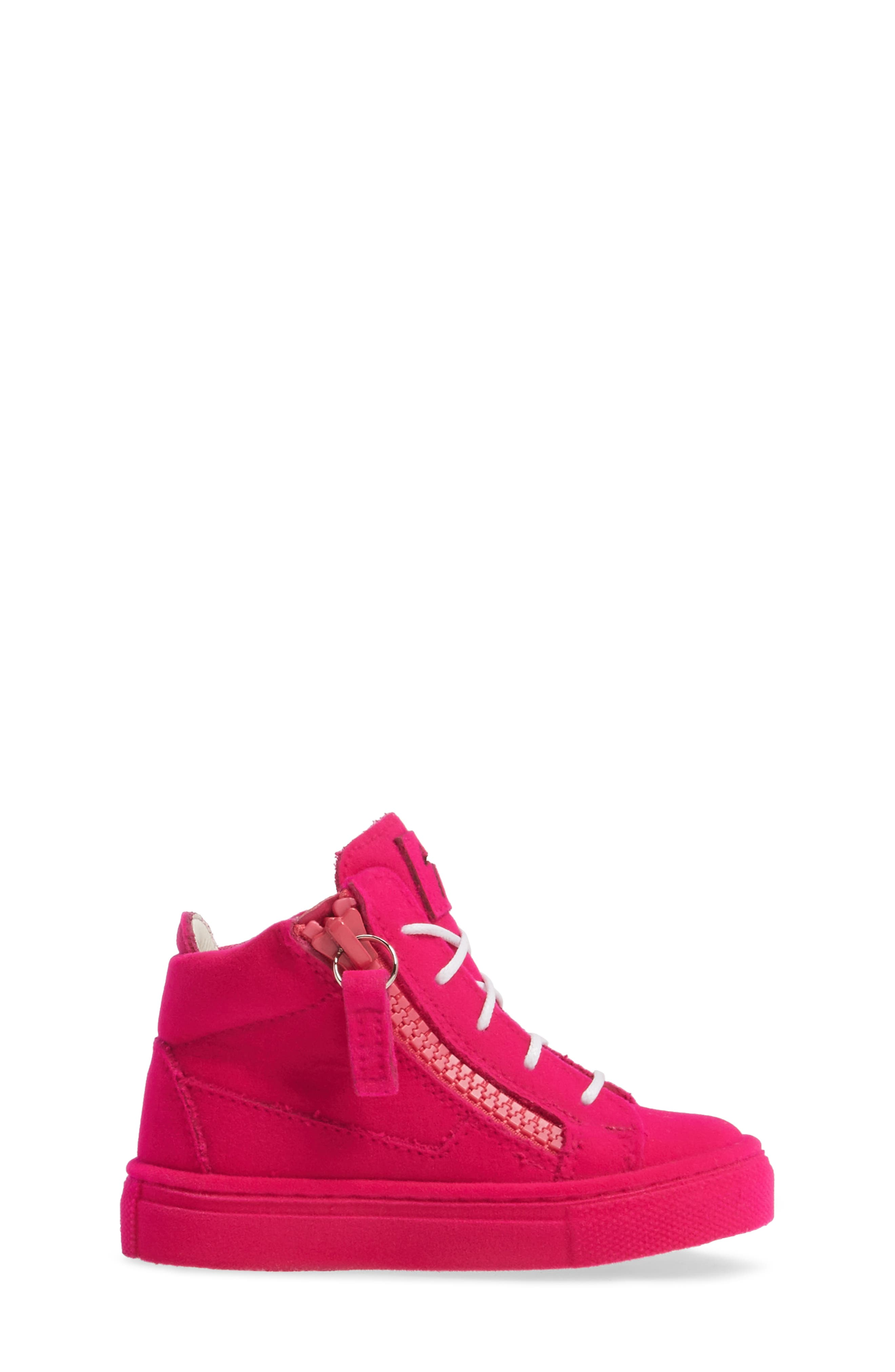 Alternate Image 3  - Giuseppe Zanotti Smuggy Sneaker (Baby, Walker, Toddler & Little Kid)