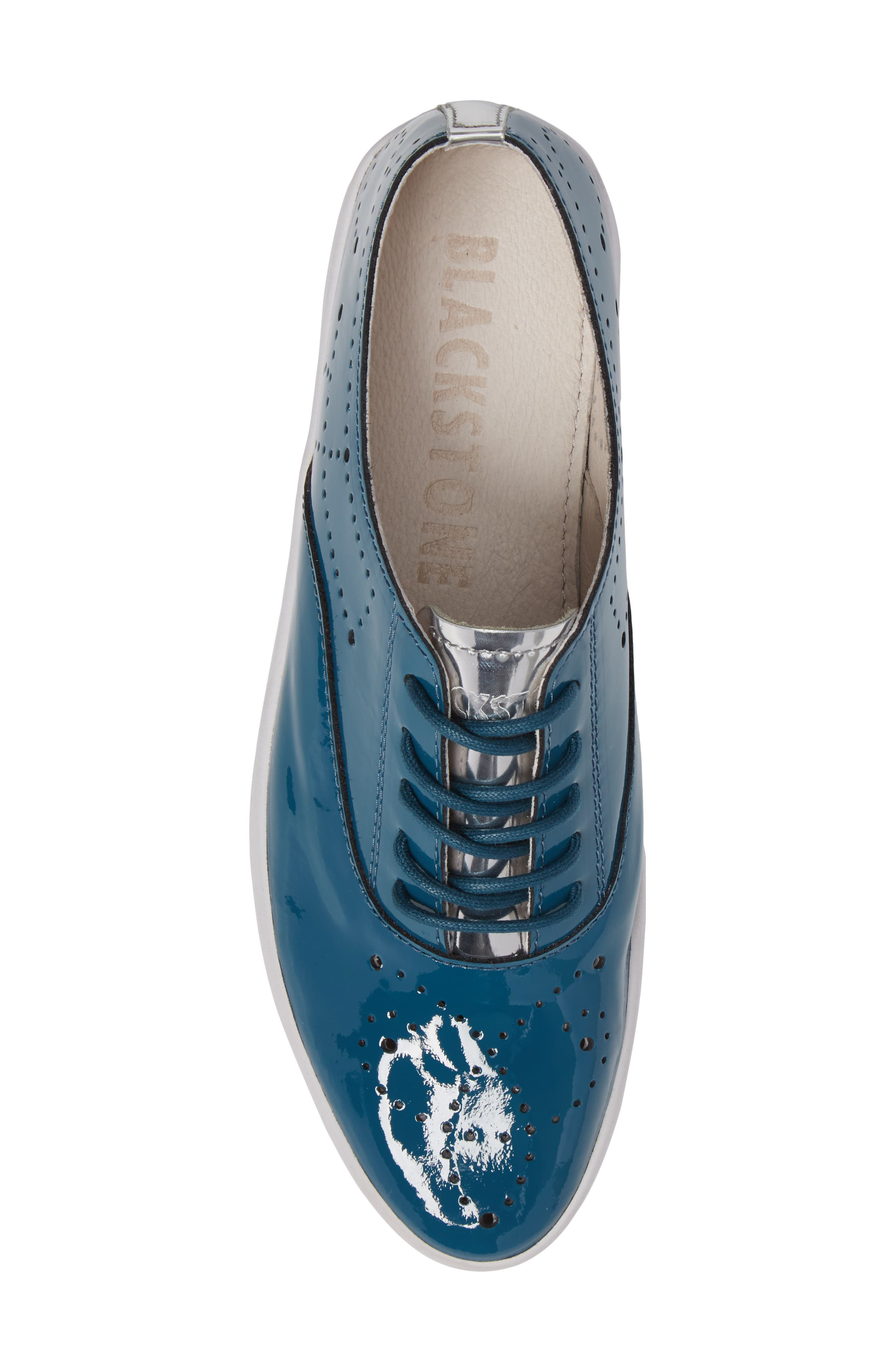 NL41 Sneaker,                             Alternate thumbnail 5, color,                             Turquoise Patent Leather