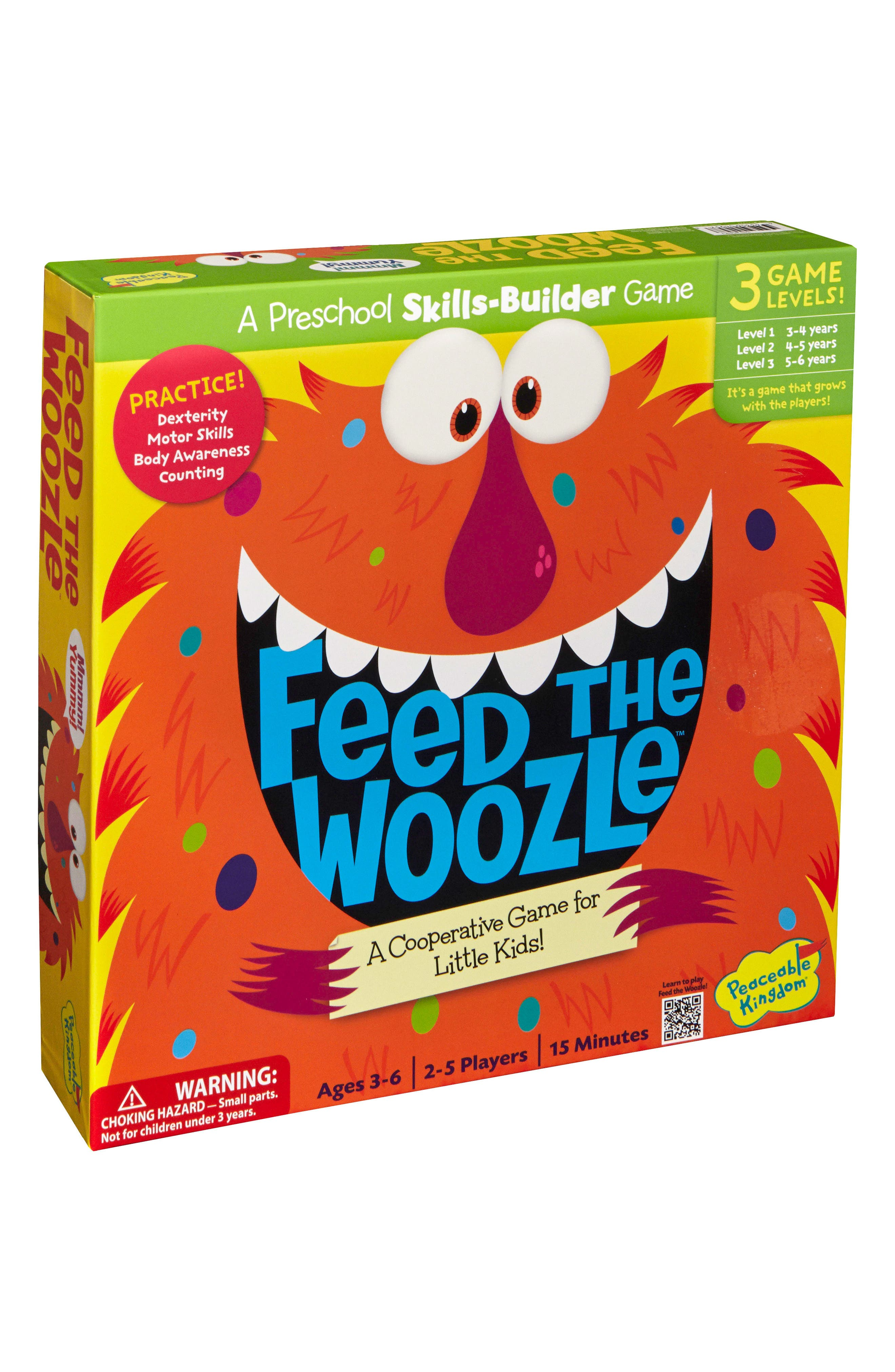 Peaceable Kingdom Feed the Woozle Cooperative Board Game