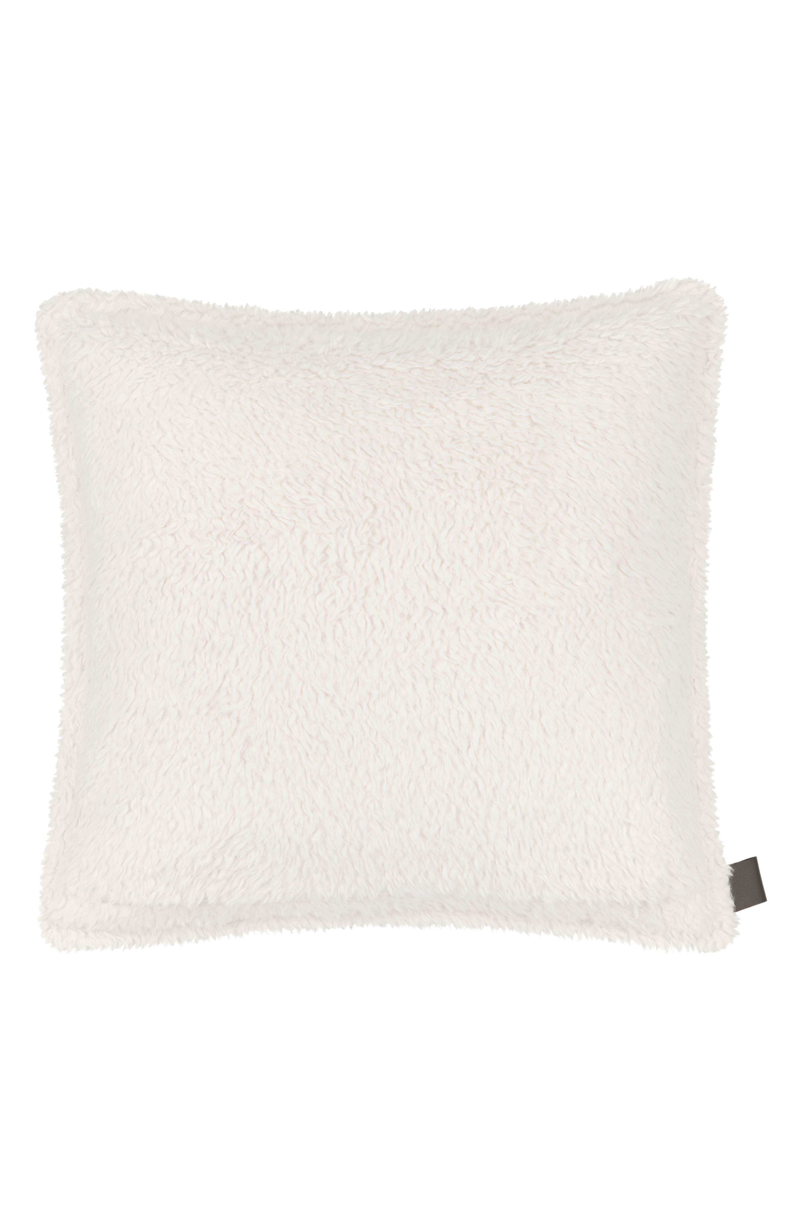 Alternate Image 2  - UGG® Ana Faux Shearling Pillow