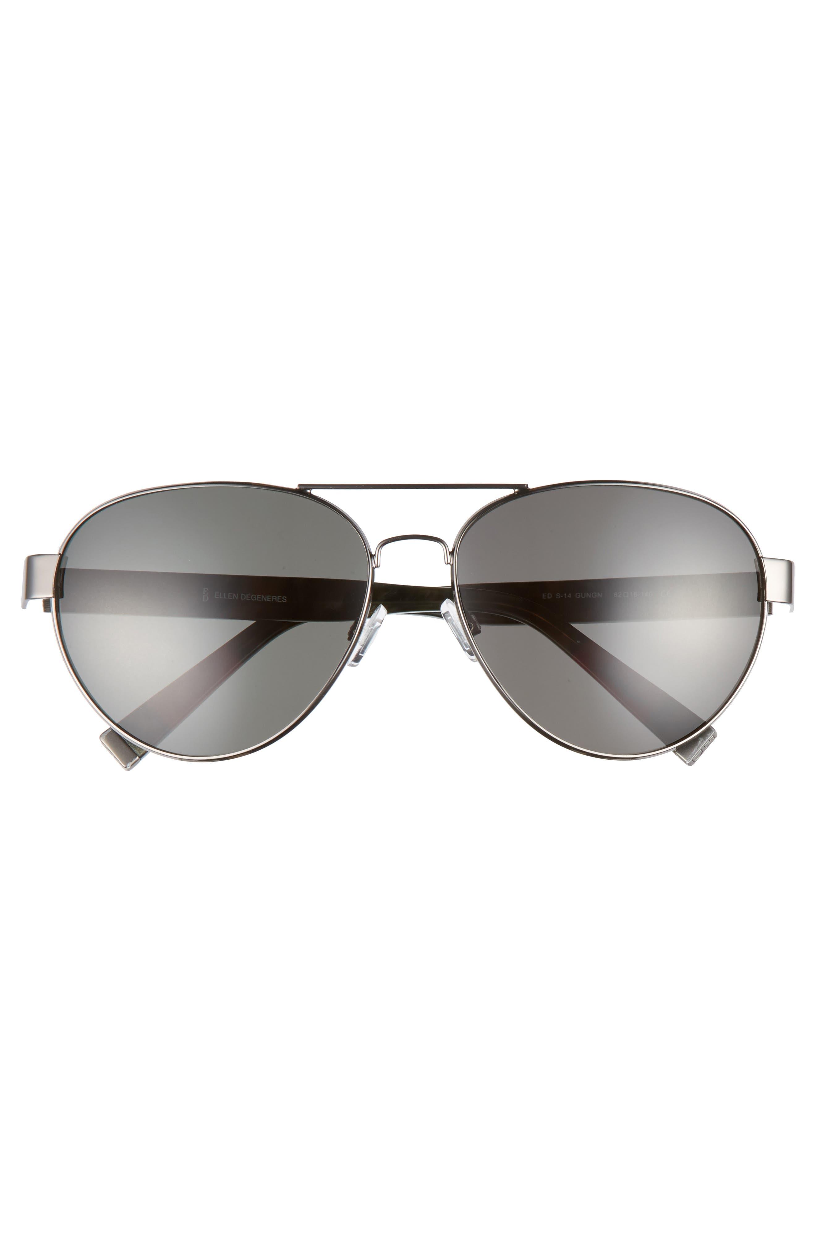 Alternate Image 3  - ED Ellen DeGeneres 62mm Oversize Aviator Sunglasses