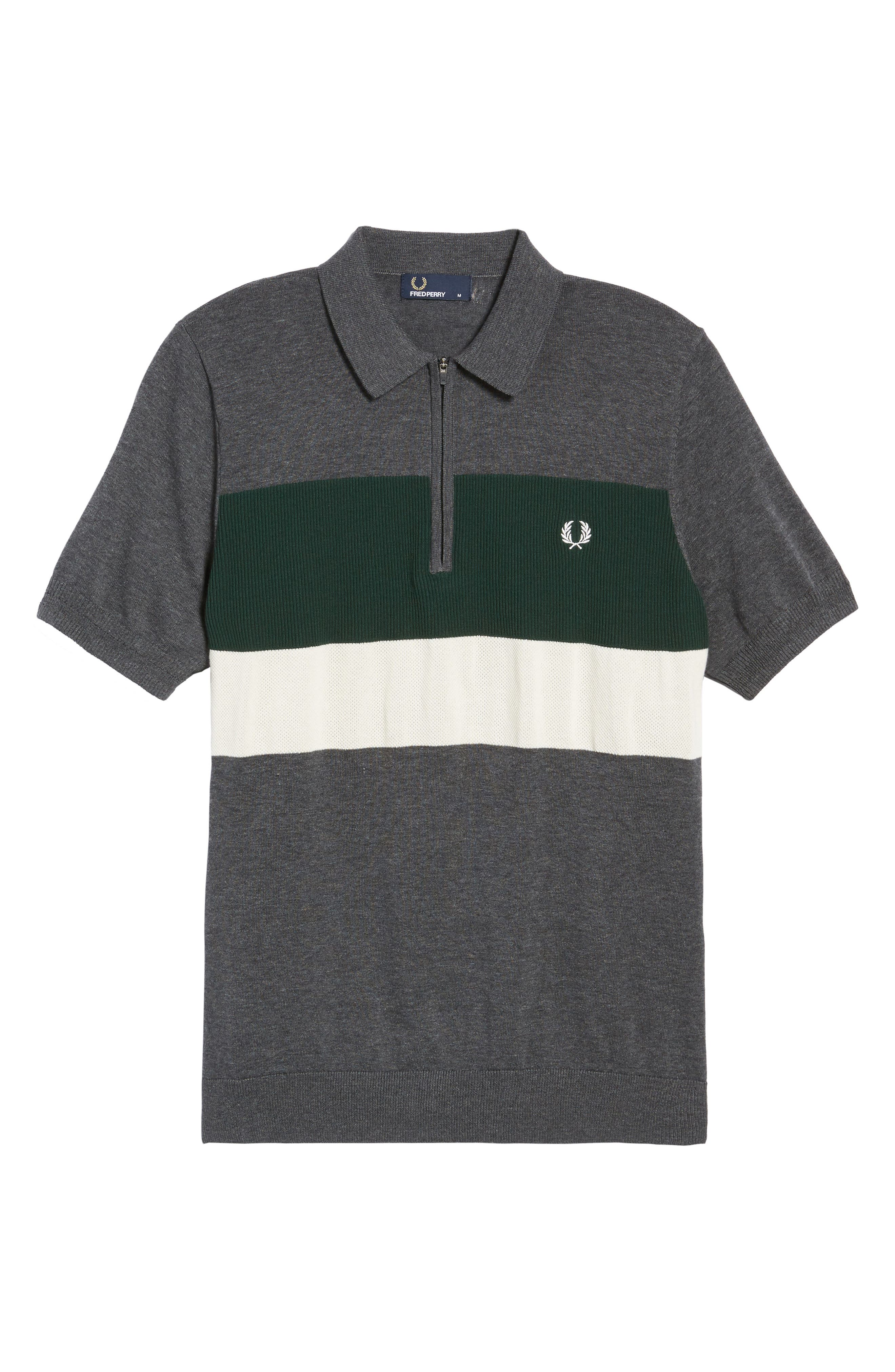 Alternate Image 5  - Fred Perry Colorblock Polo