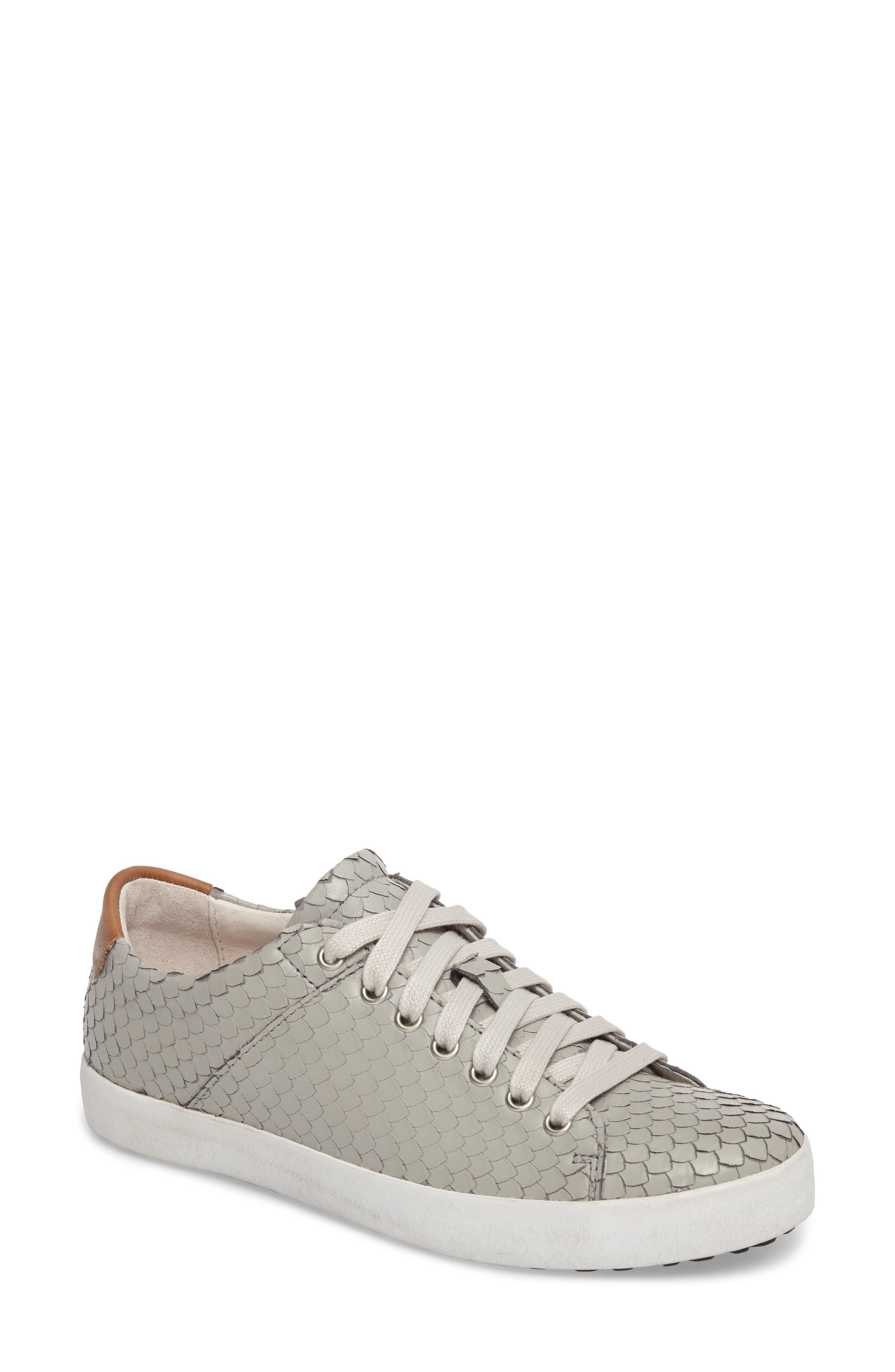 OL25 Sneaker,                         Main,                         color, Grey Leather