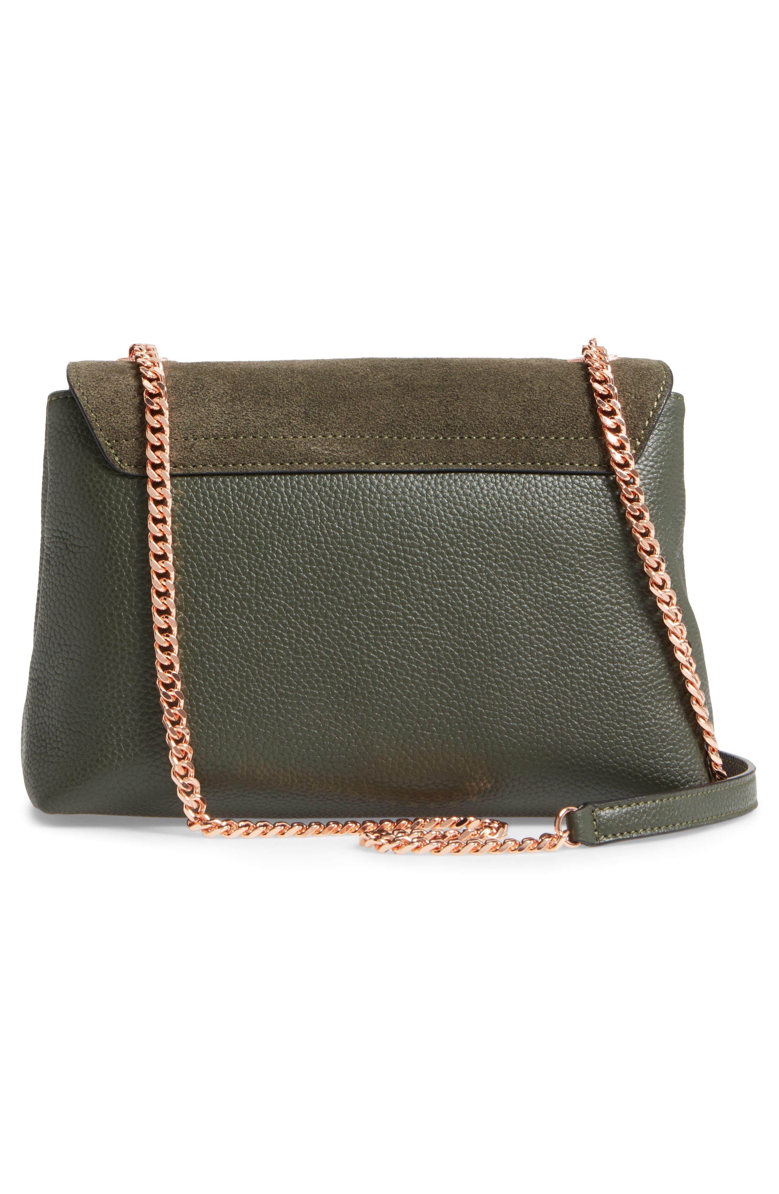 Sorikai Leather & Suede Crossbody Bag,                             Alternate thumbnail 2, color,                             Khaki
