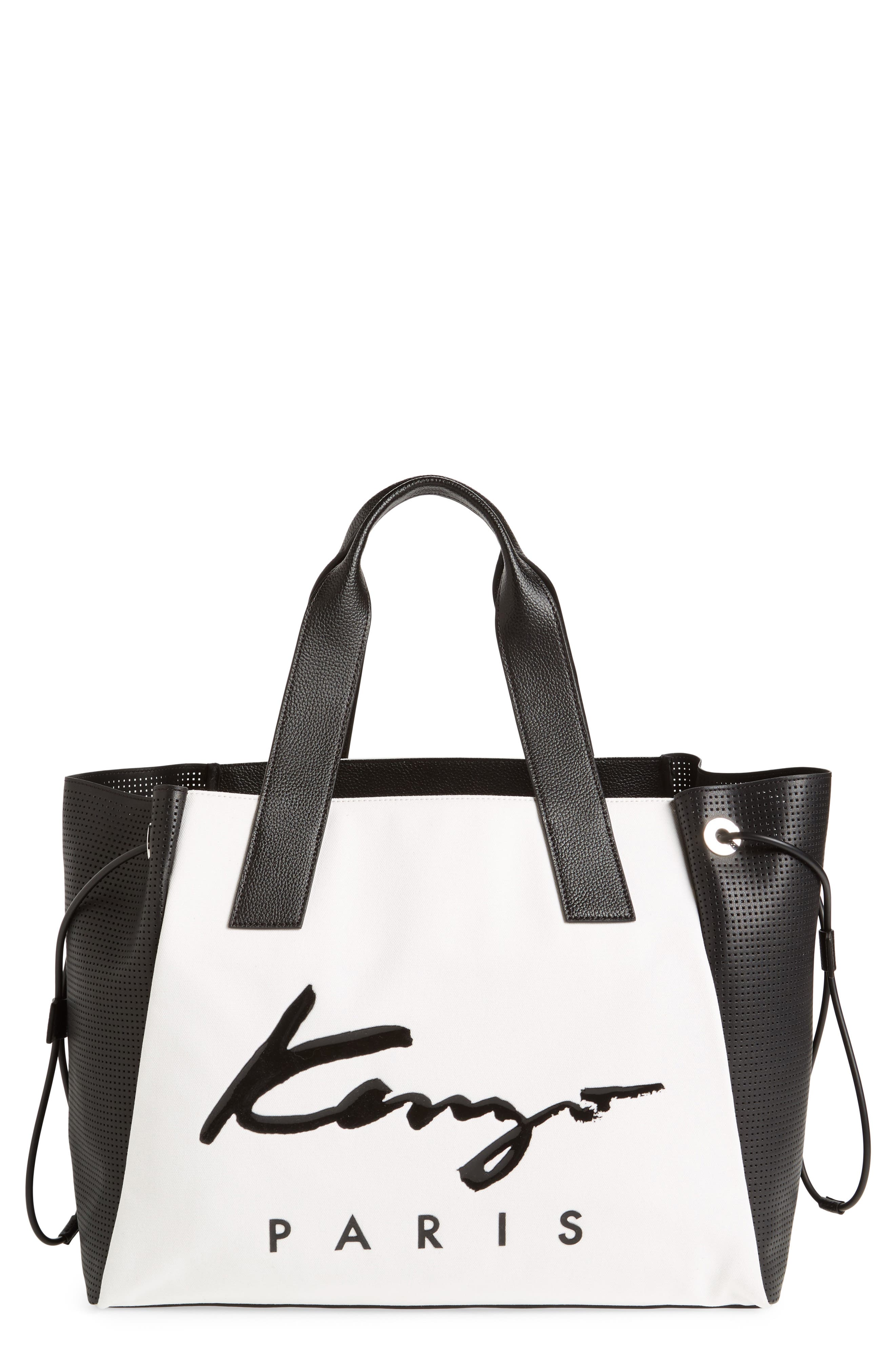 Alternate Image 1 Selected - KENZO Signature Large Tote