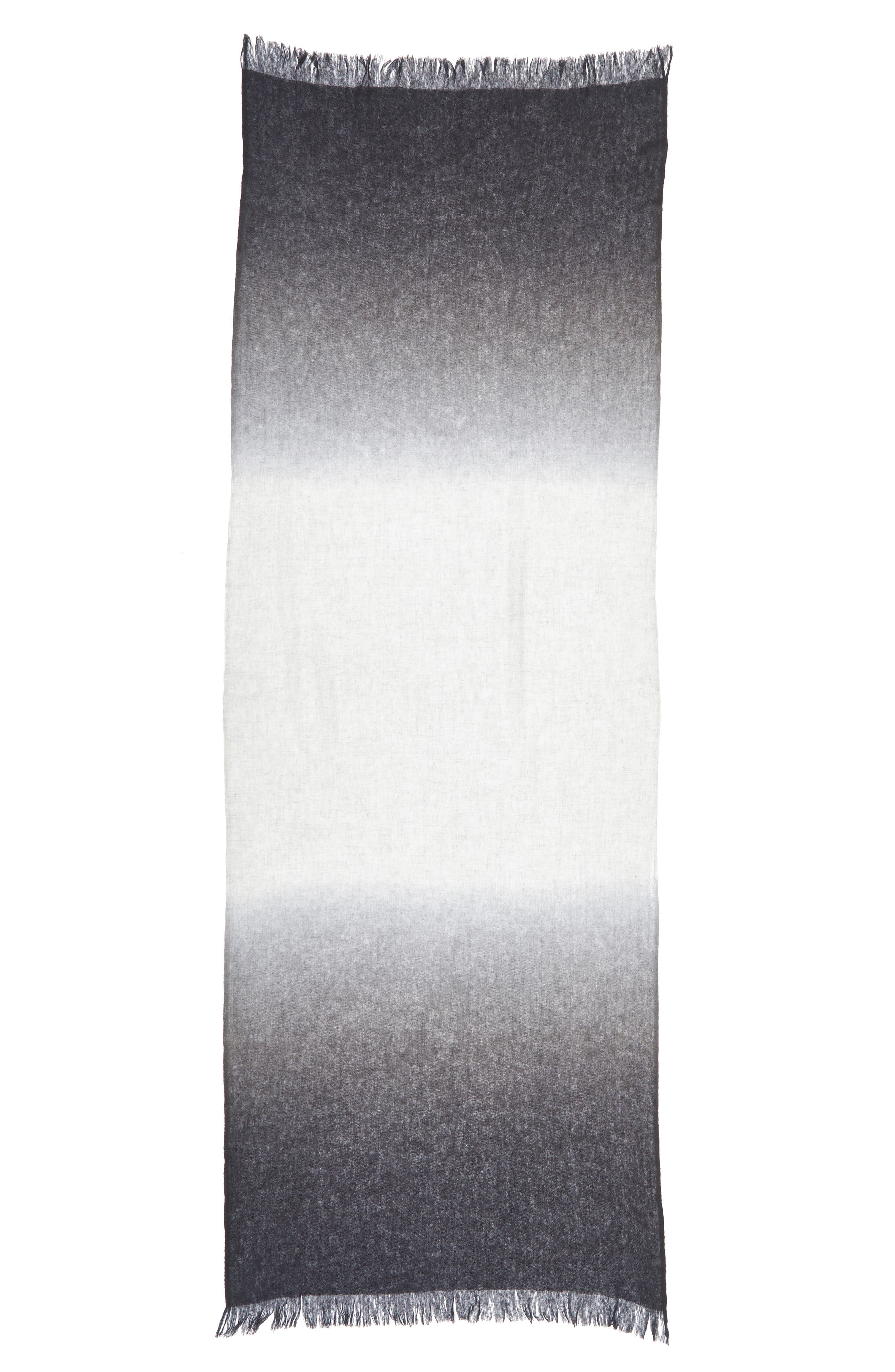 Alternate Image 6  - Caslon Dip Dye Cashmere Wrap