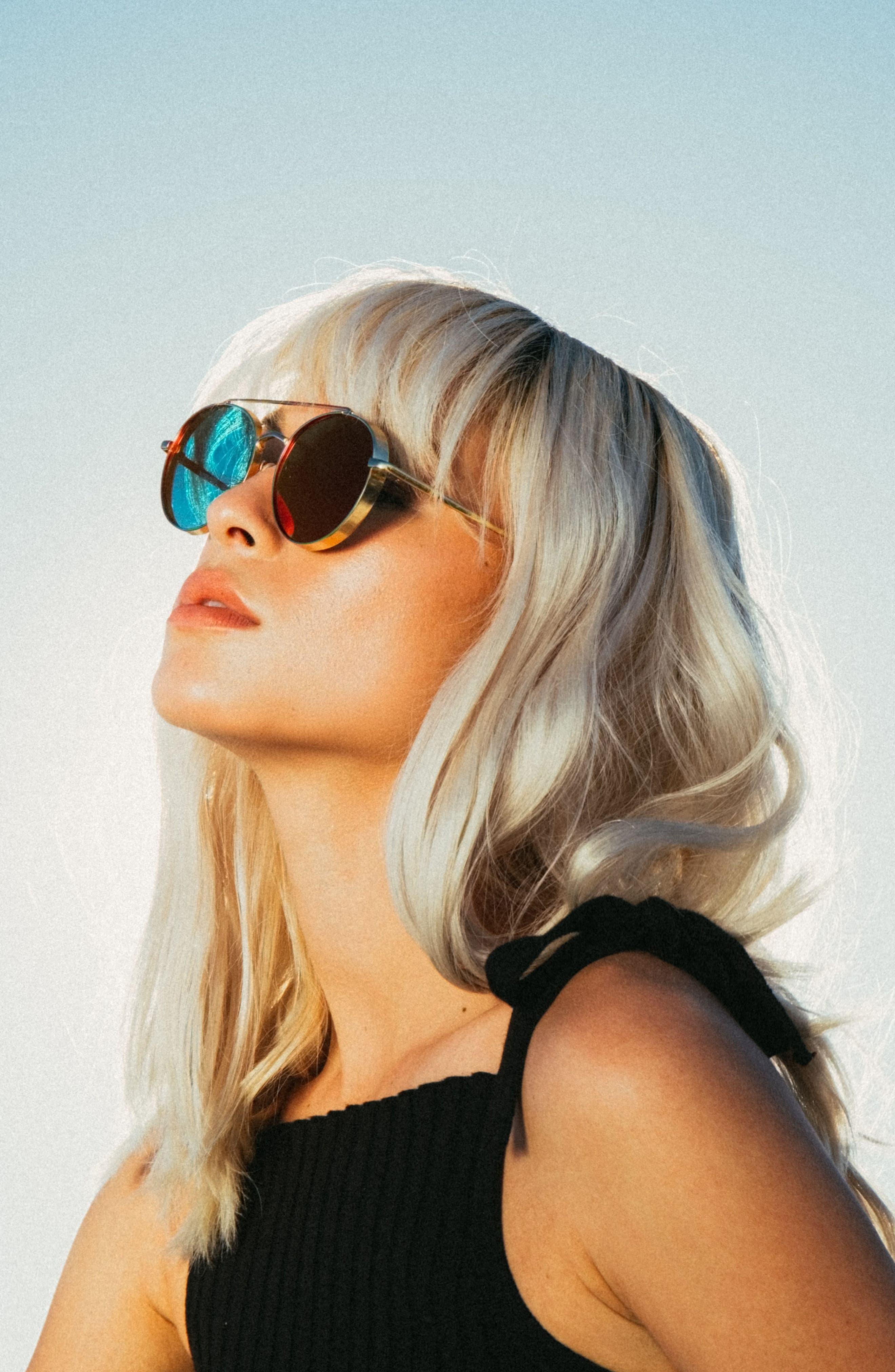 Alternate Image 2  - Bonnie Clyde Olympic 53mm Polarized Aviator Sunglasses