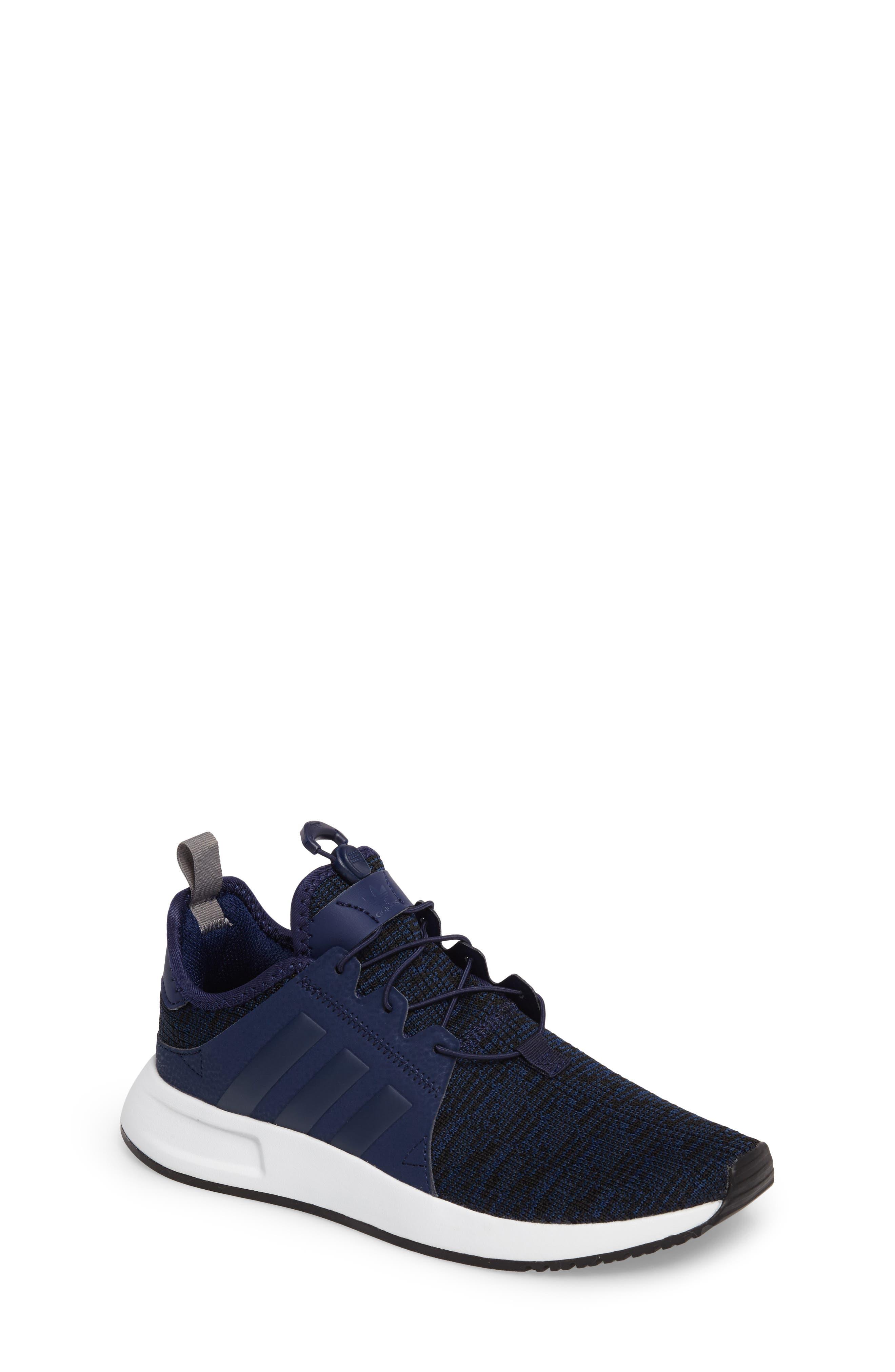 adidas X_PLR Knit Sneaker (Big Kid)