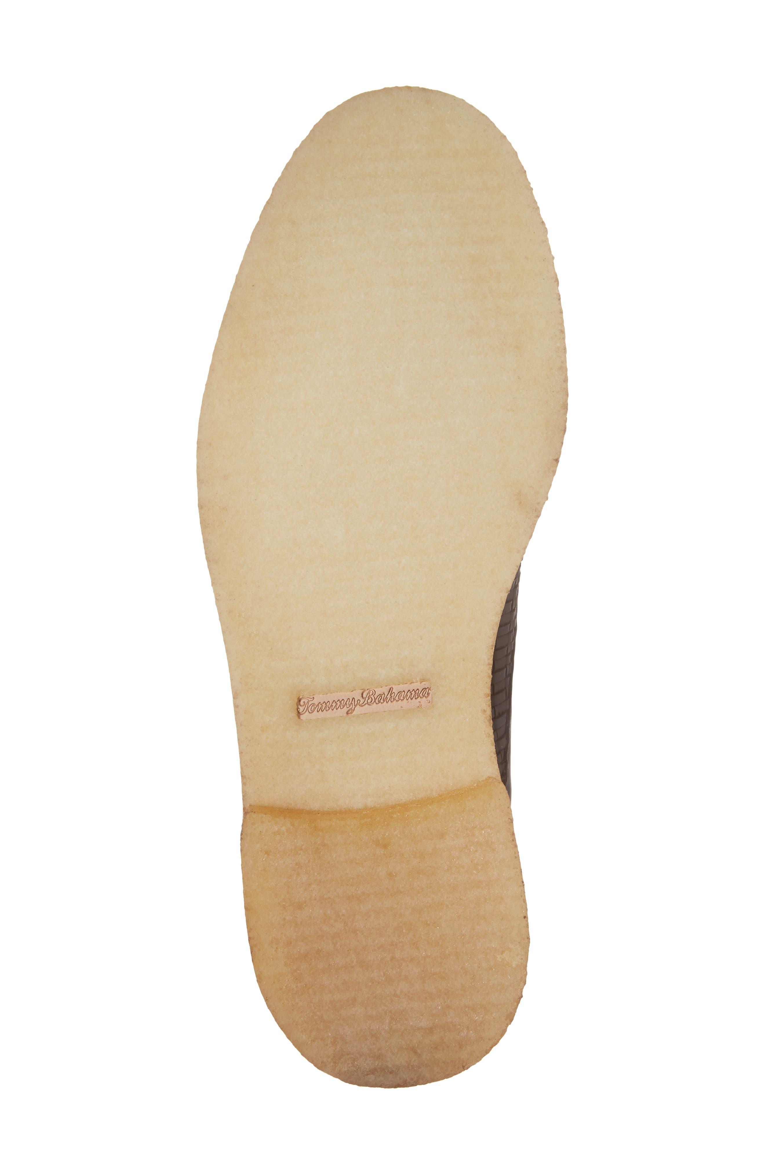 Argon Blooms Cap Toe Boot,                             Alternate thumbnail 6, color,                             Brown Leather