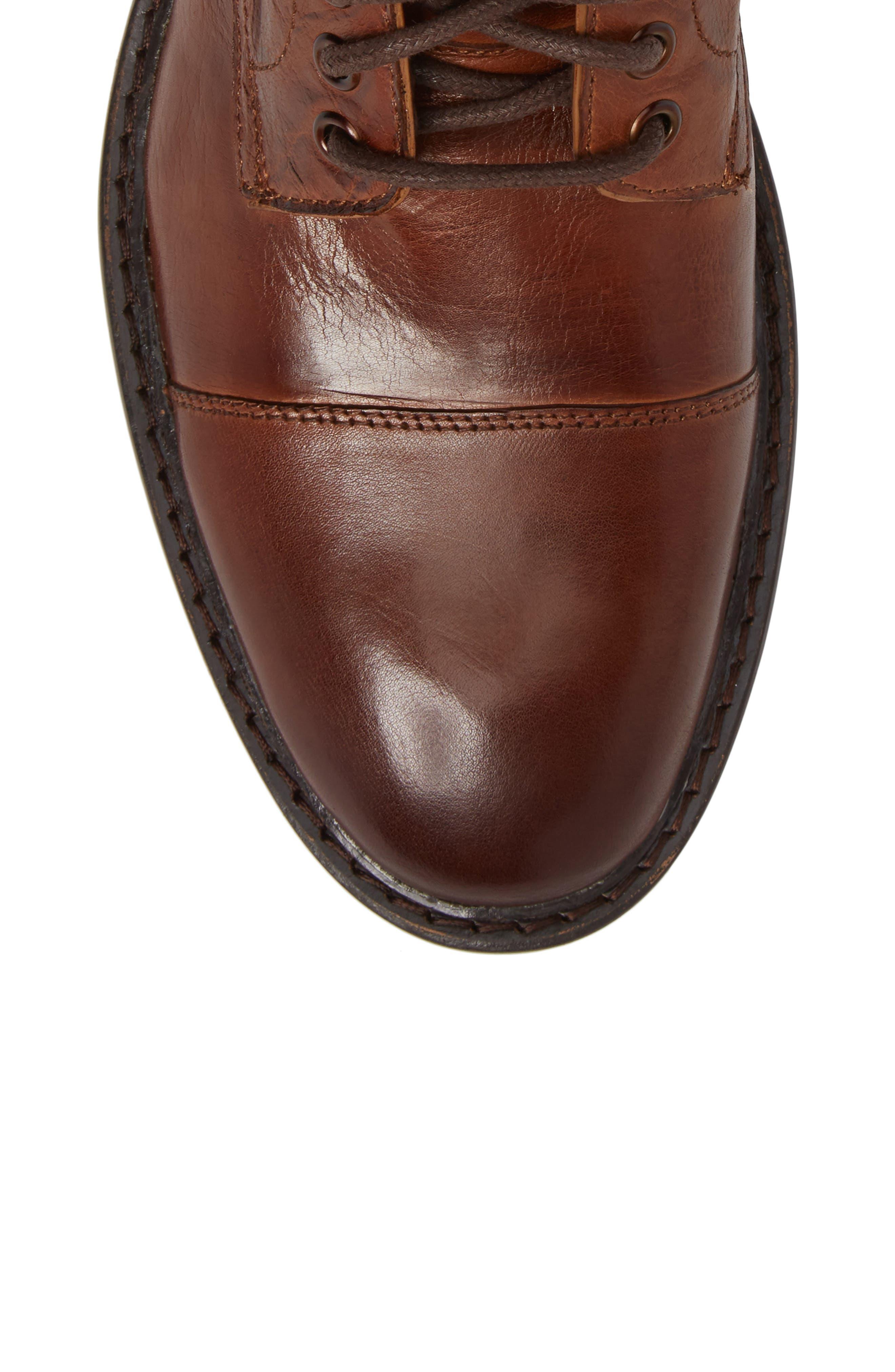 Piston Cap Toe Boot,                             Alternate thumbnail 5, color,                             Tan