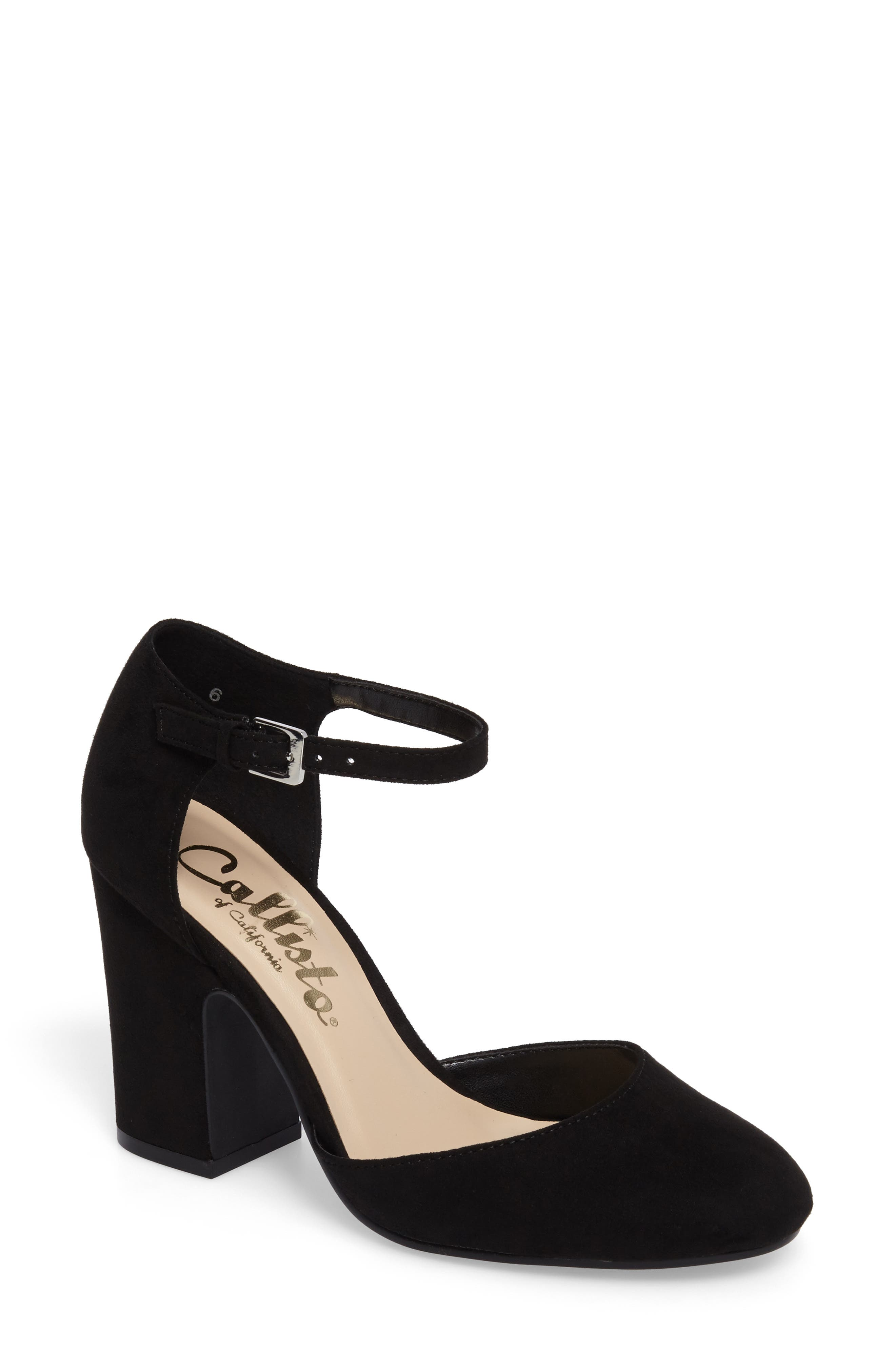 Callisto Indeego Ankle Strap Pump (Women)