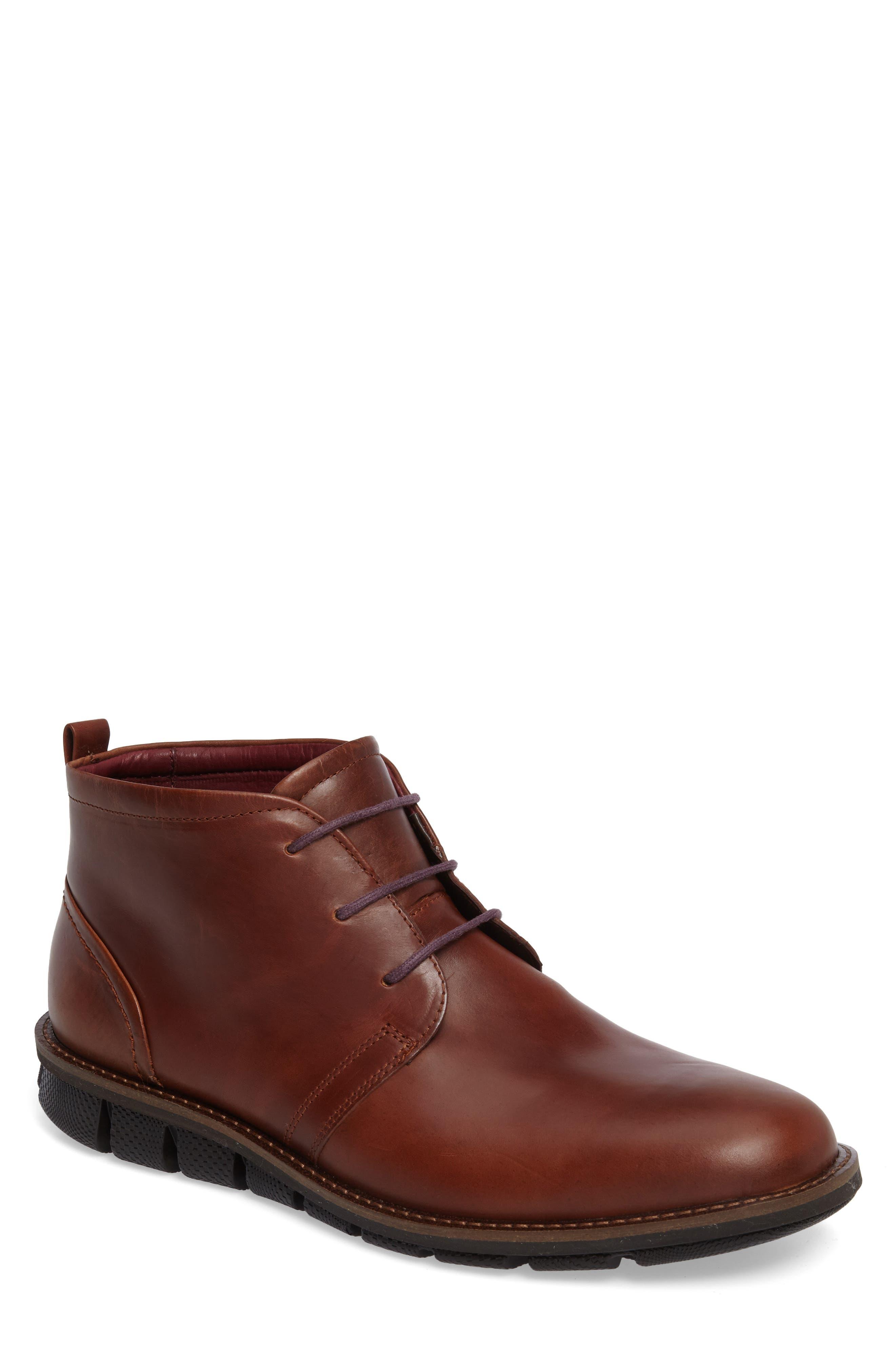 ECCO Jeremy Hybrid Plain Toe Boot