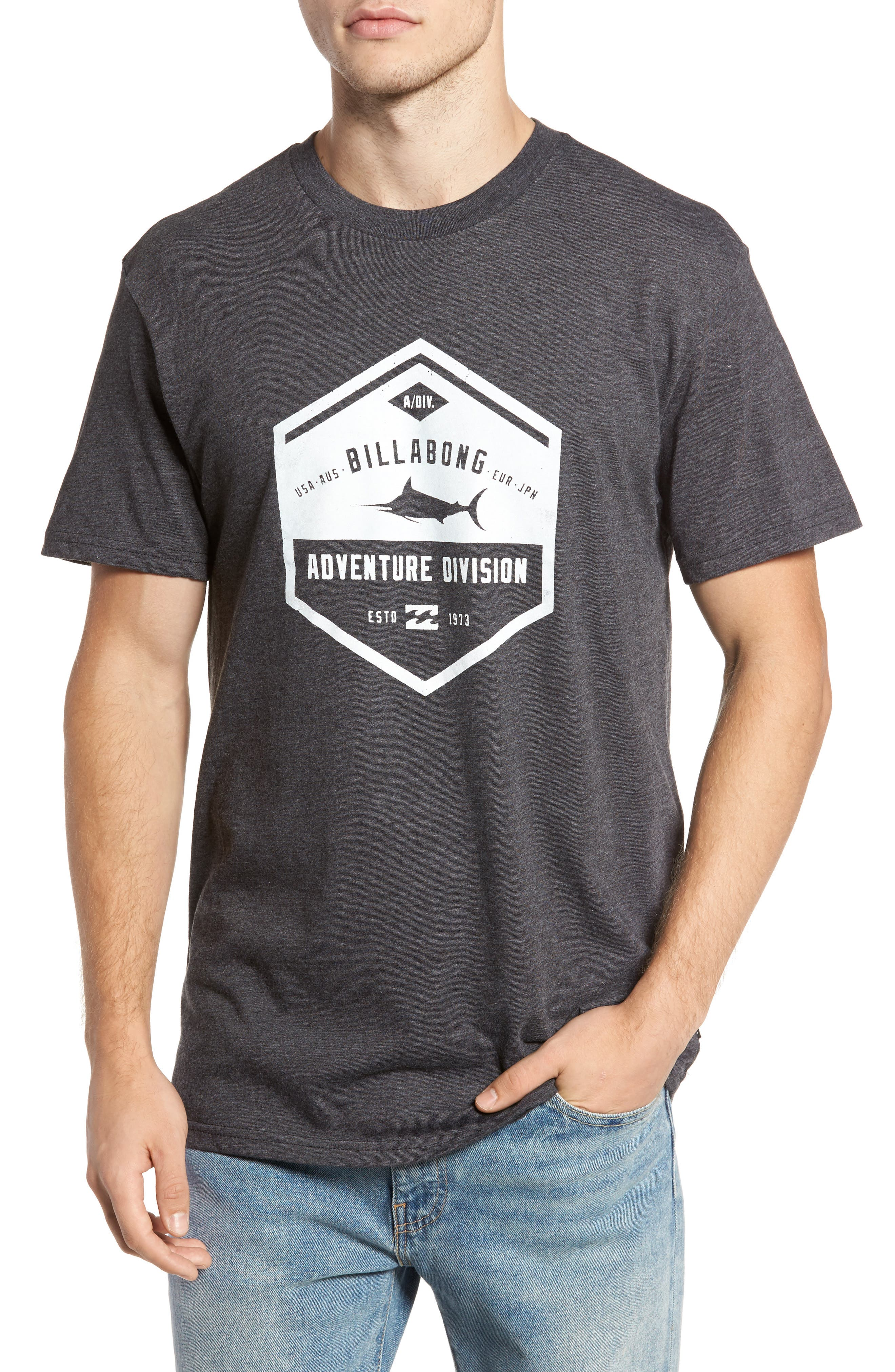 Alternate Image 1 Selected - Billabong Trade Winds Graphic T-Shirt