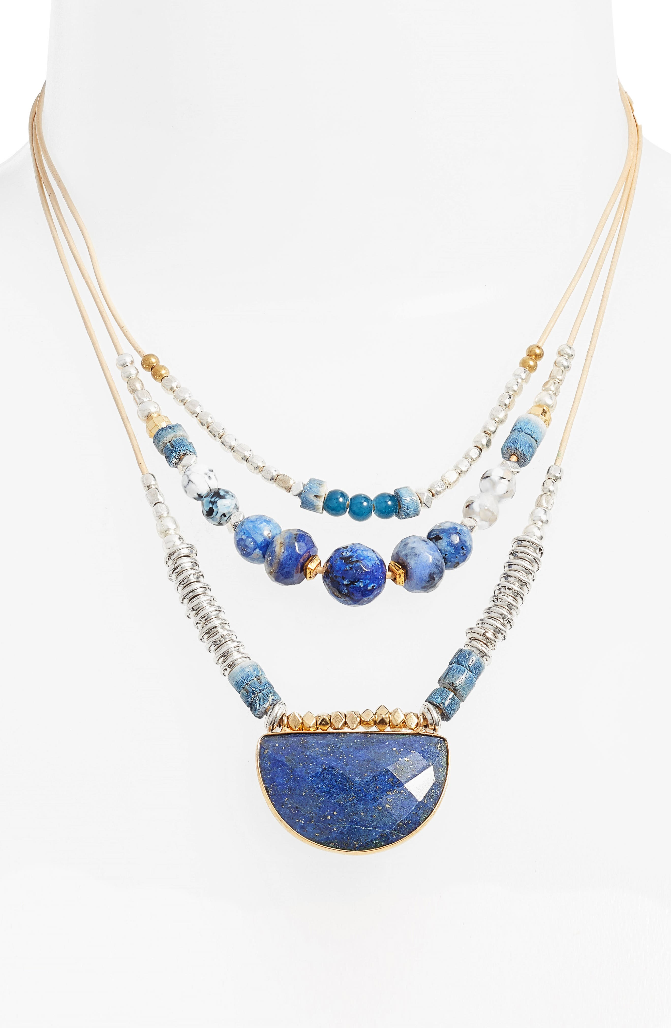 Nakamol Design Multilayered Necklace