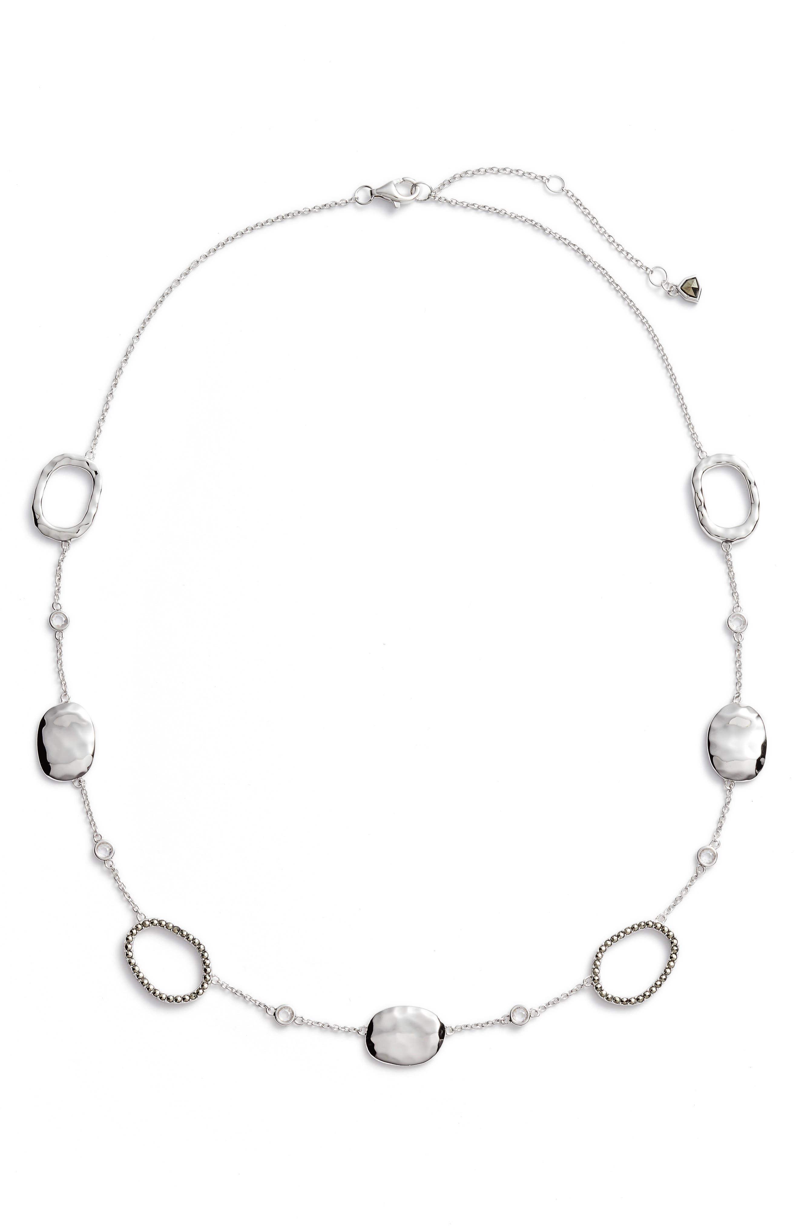 JUDITH JACK Crystal Collar Necklace