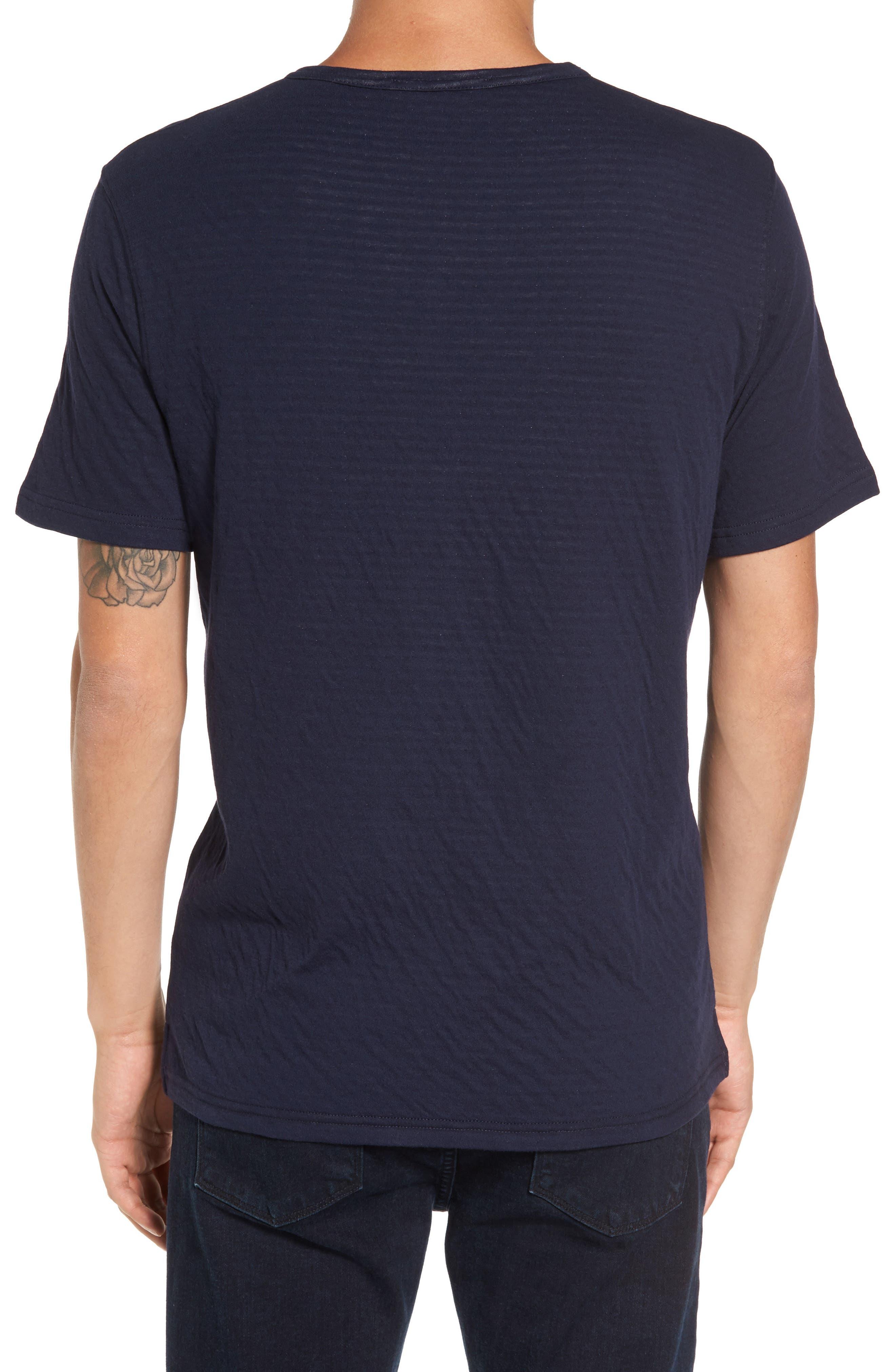 Striped Pocket T-Shirt,                             Alternate thumbnail 2, color,                             Navy/ White Stripe