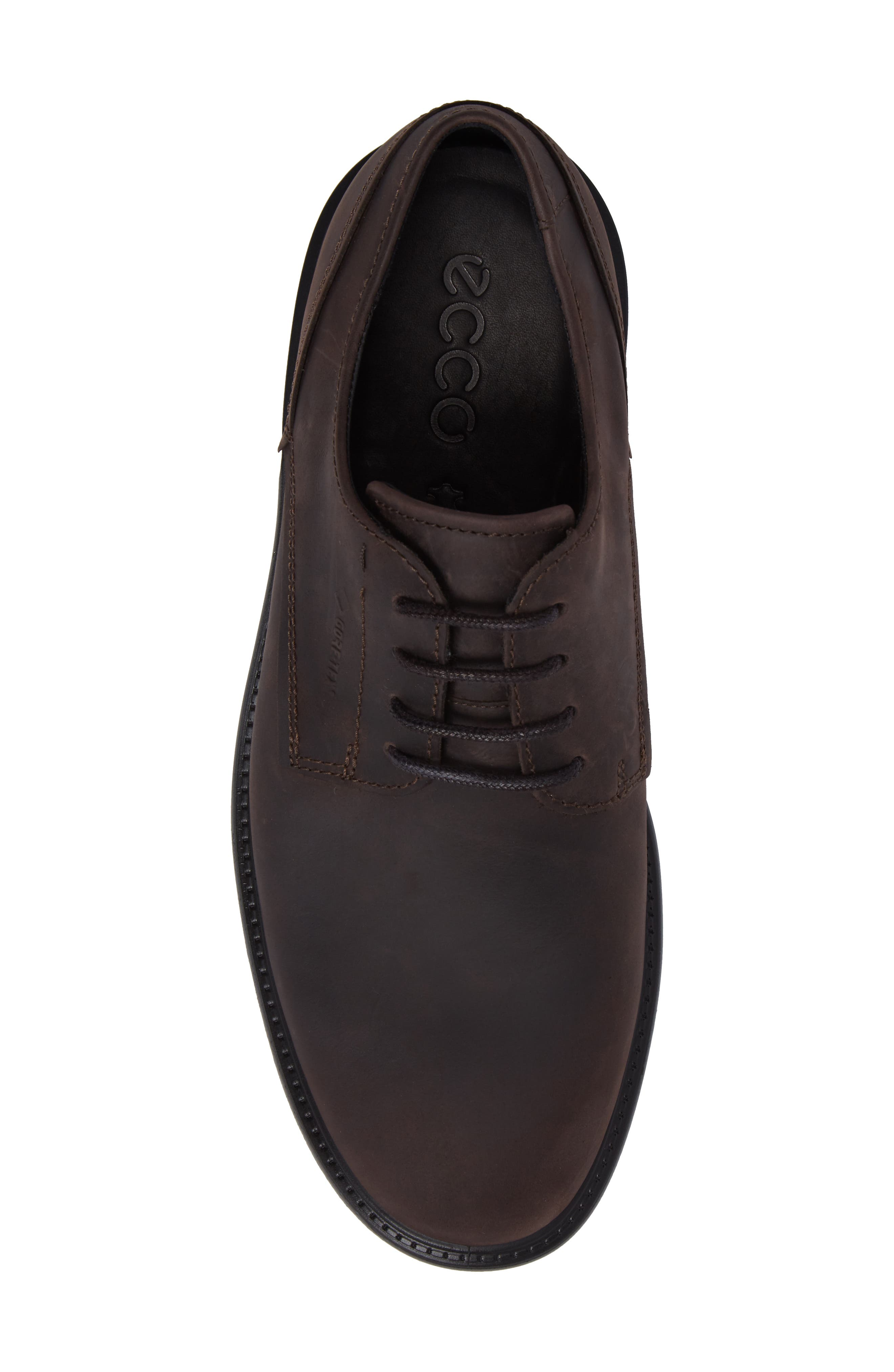 Alternate Image 4  - ECCO Knoxville Plain Toe Waterproof Gore-Tex® Derby (Men)