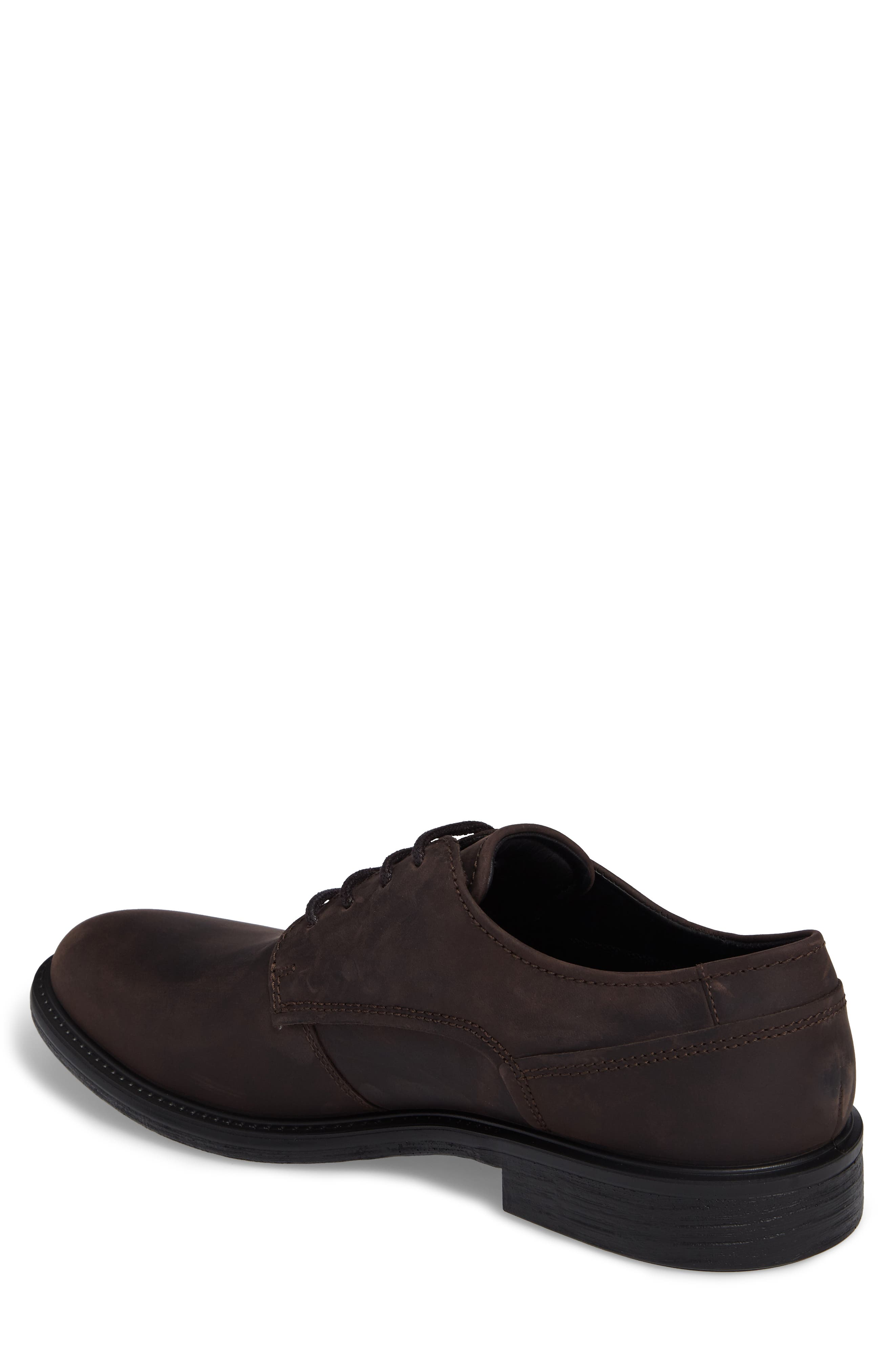 Alternate Image 2  - ECCO Knoxville Plain Toe Waterproof Gore-Tex® Derby (Men)