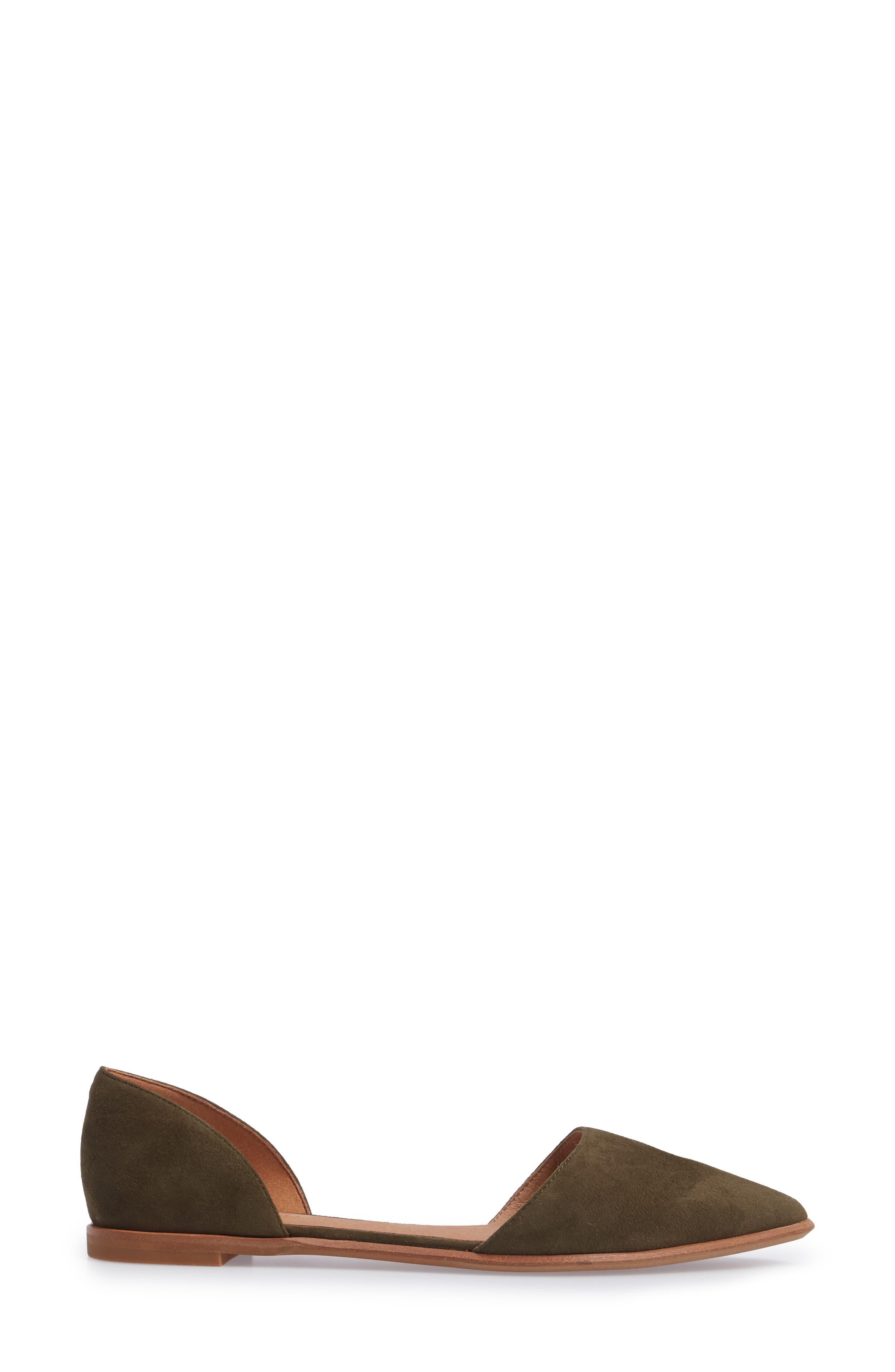 Alternate Image 3  - Madewell Arielle d'Orsay Flat (Women)