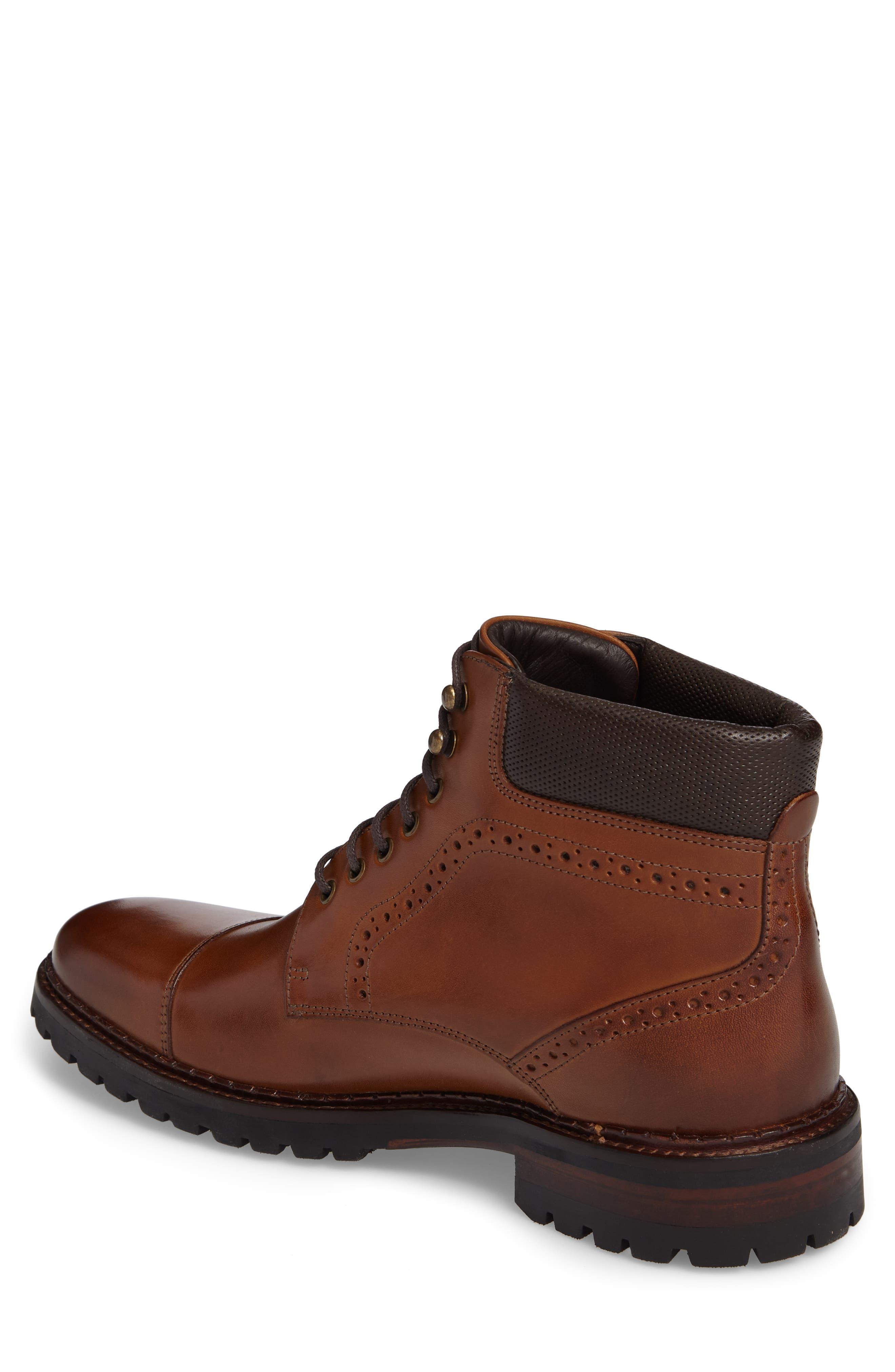 Jennings Cap Toe Boot,                             Alternate thumbnail 2, color,                             Tan
