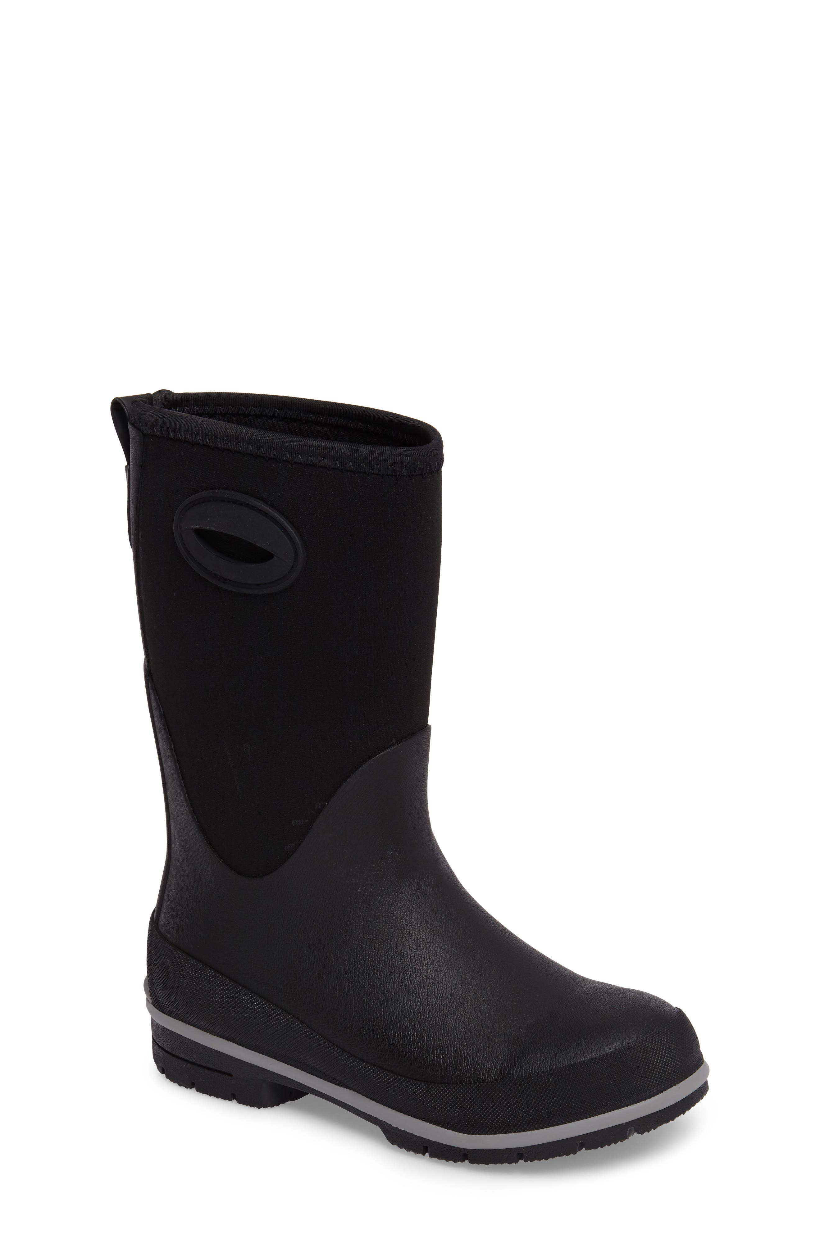 Neoprene Insulated Boot,                             Main thumbnail 1, color,                             Black
