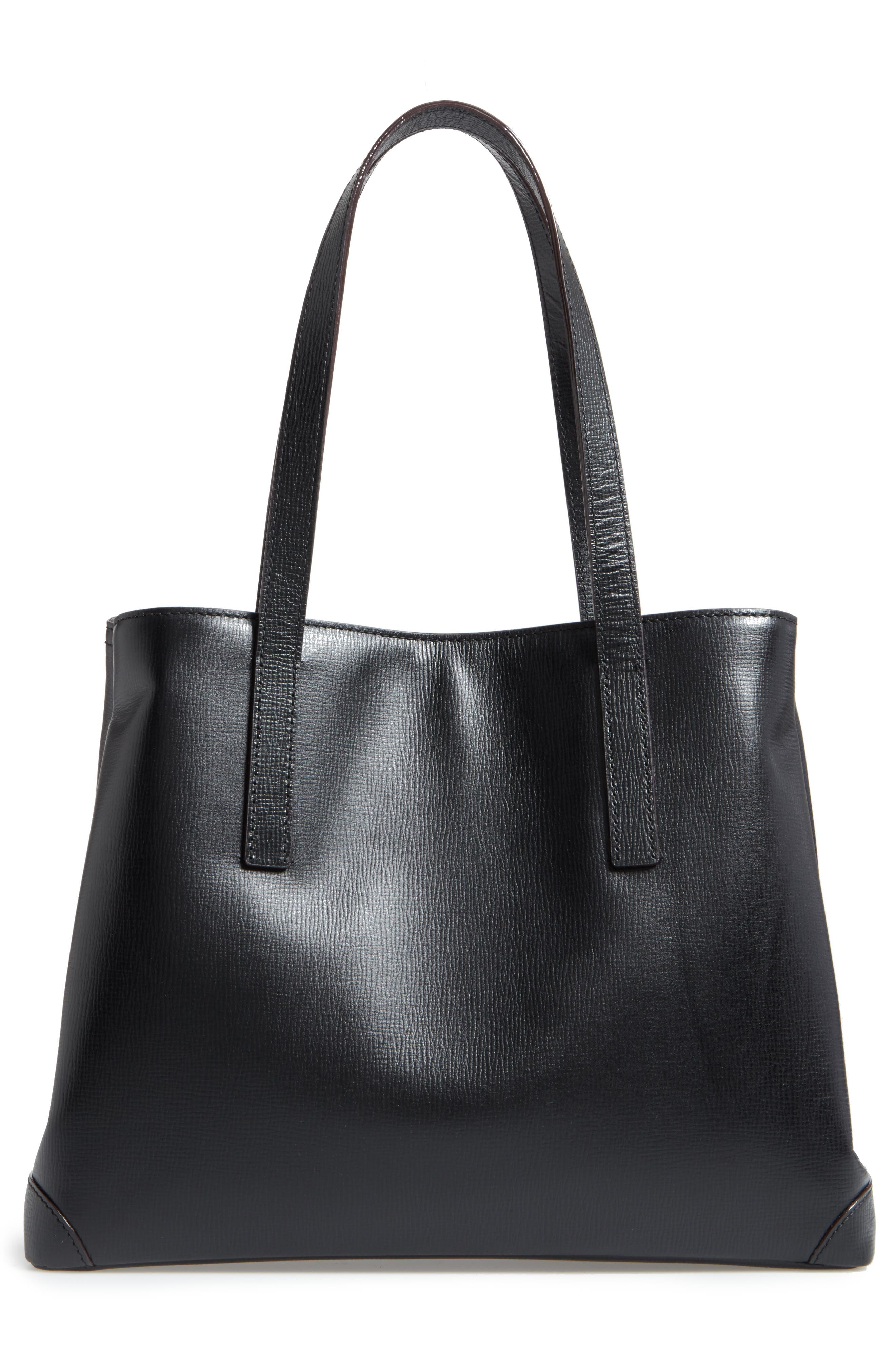Alternate Image 2  - LODIS Los Angeles Business Chic Louisa RFID-Protected Leather Tote
