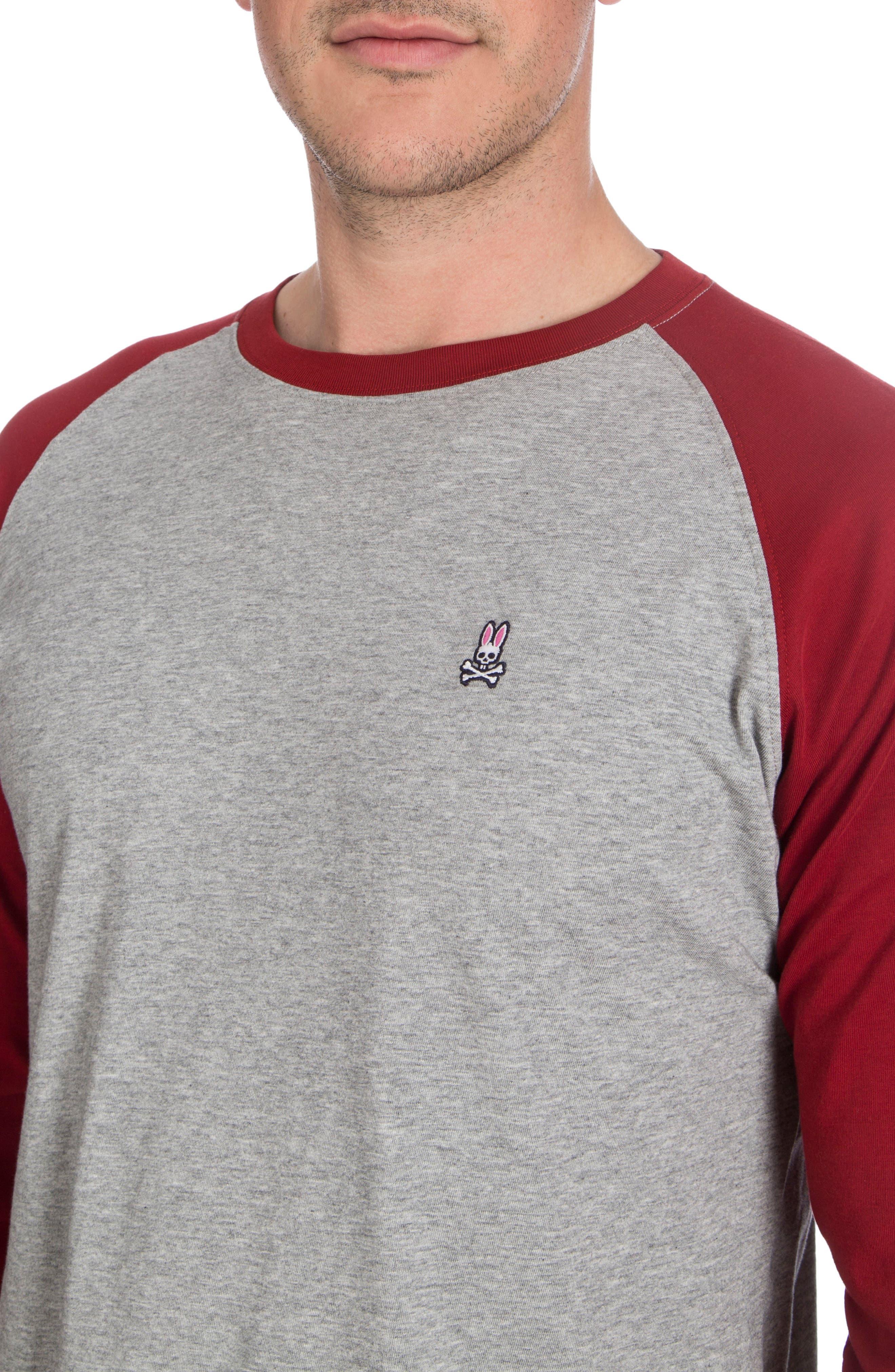 Alternate Image 3  - Psycho Bunny Cobb Raglan T-Shirt