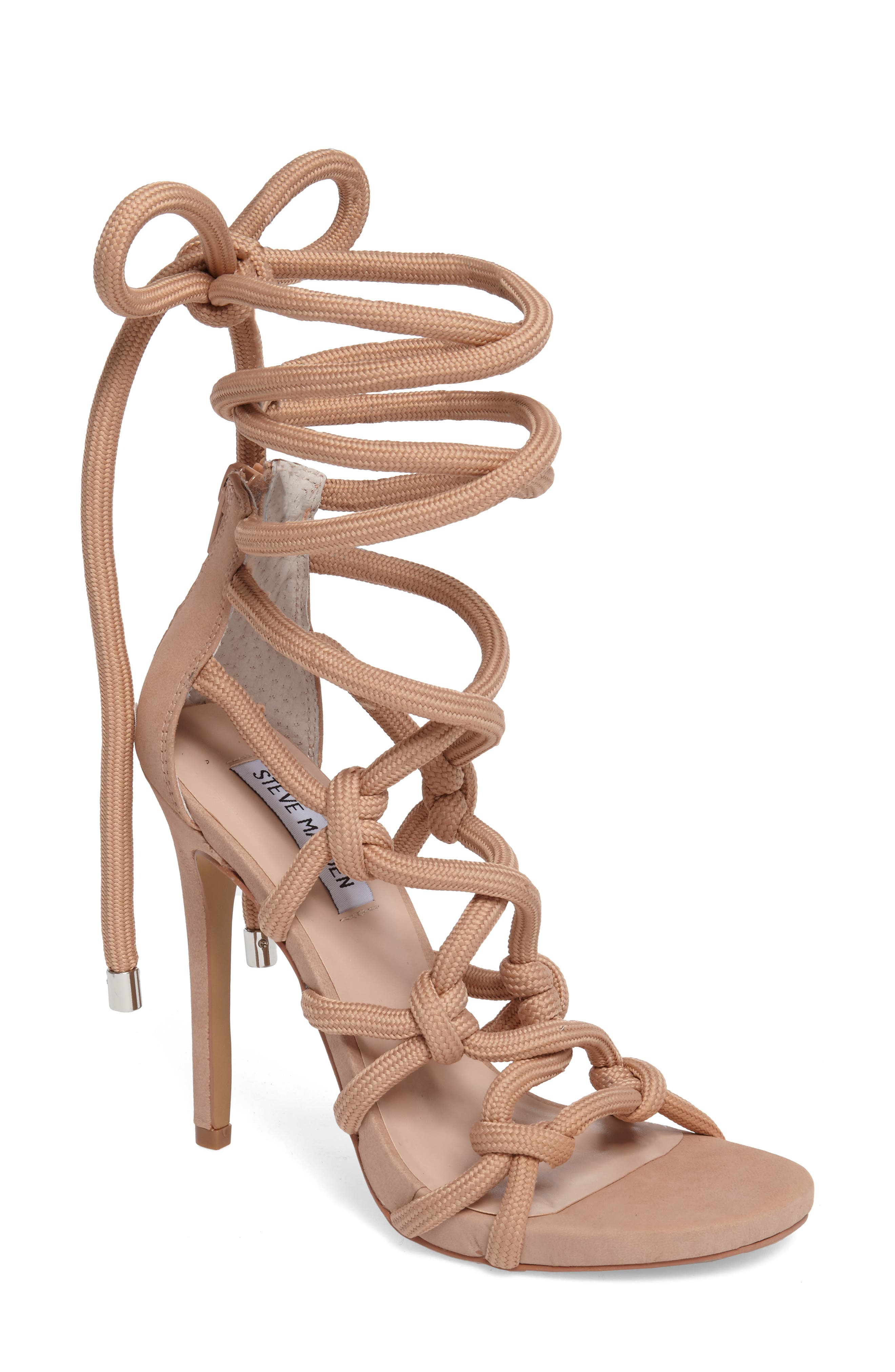 Steve Madden Dream Ankle Tie Sandal (Women)