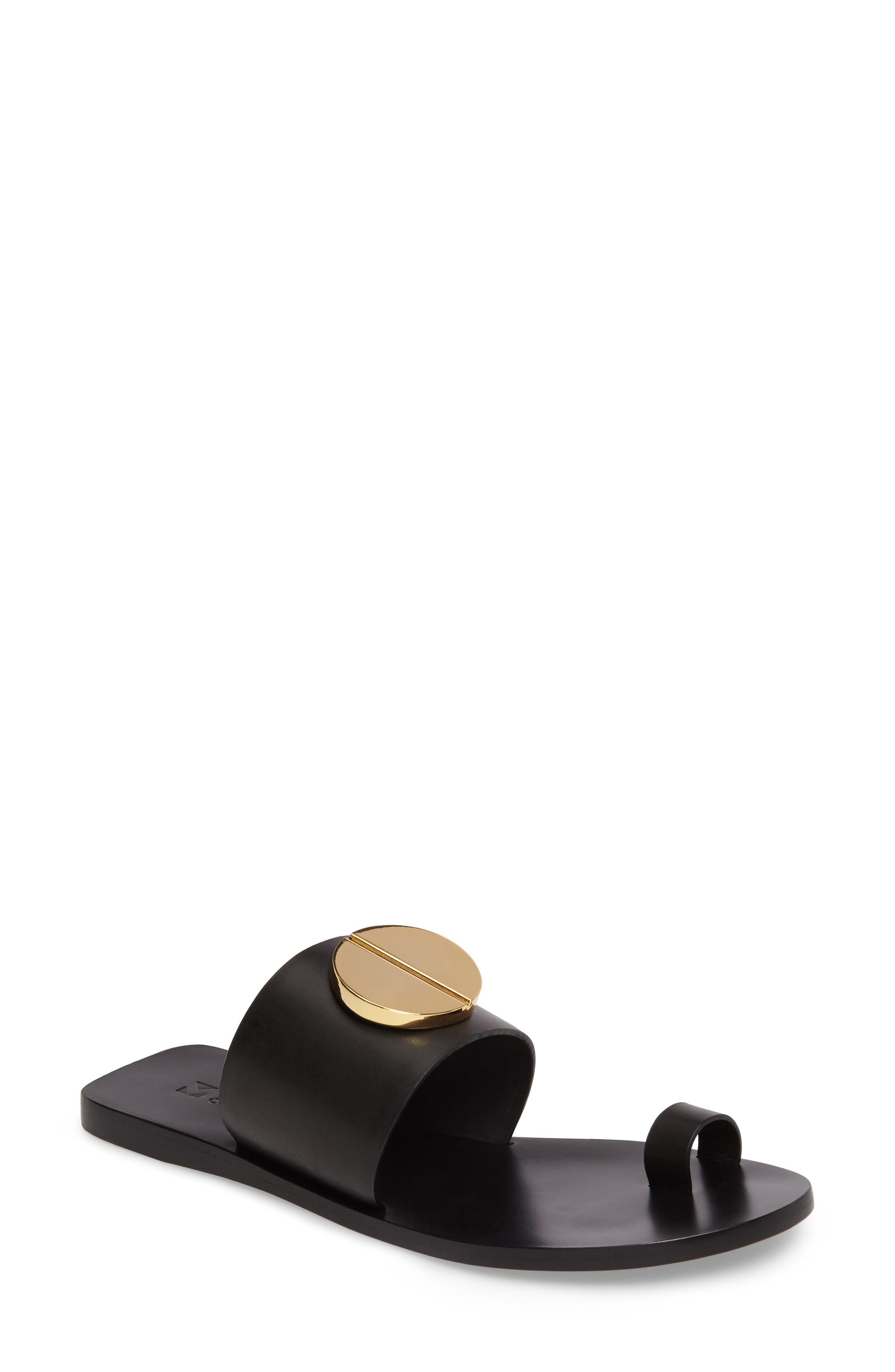 Mercedes Castillo Fallon Toe-Loop Sandal (Women)