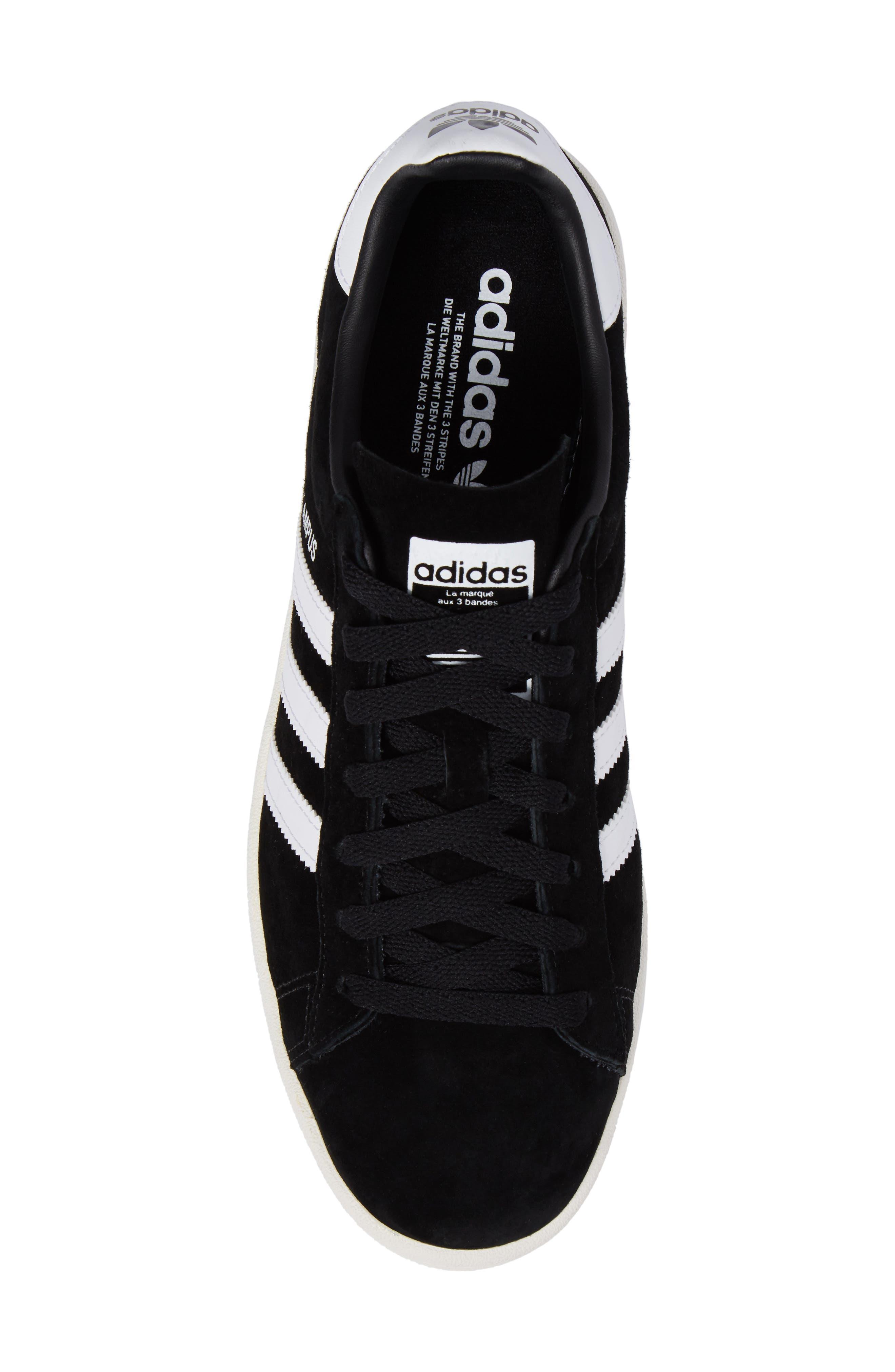 'Campus' Sneaker,                             Alternate thumbnail 5, color,                             Core Black/ White