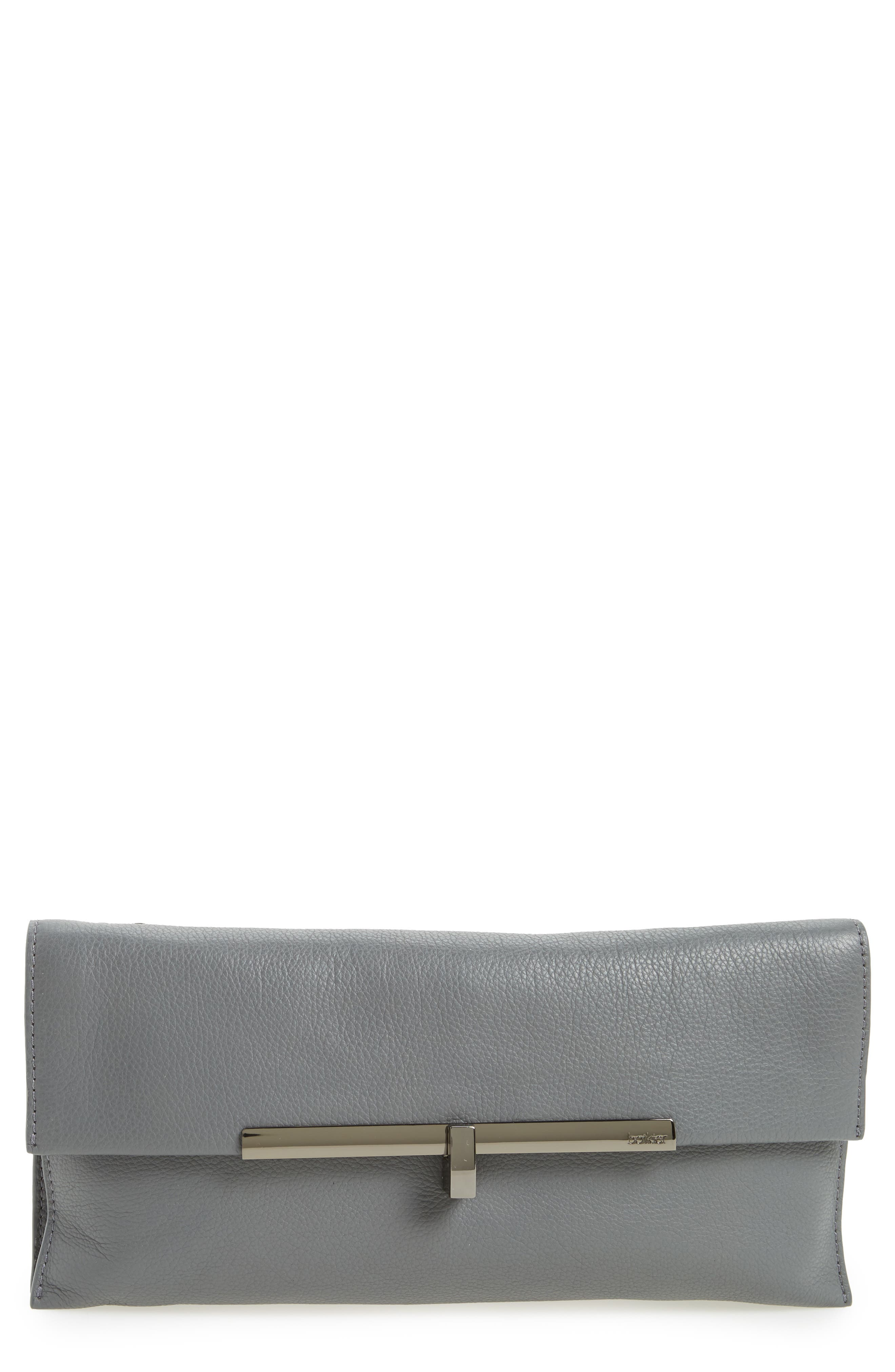 Main Image - Botkier Bleeker Leather Clutch