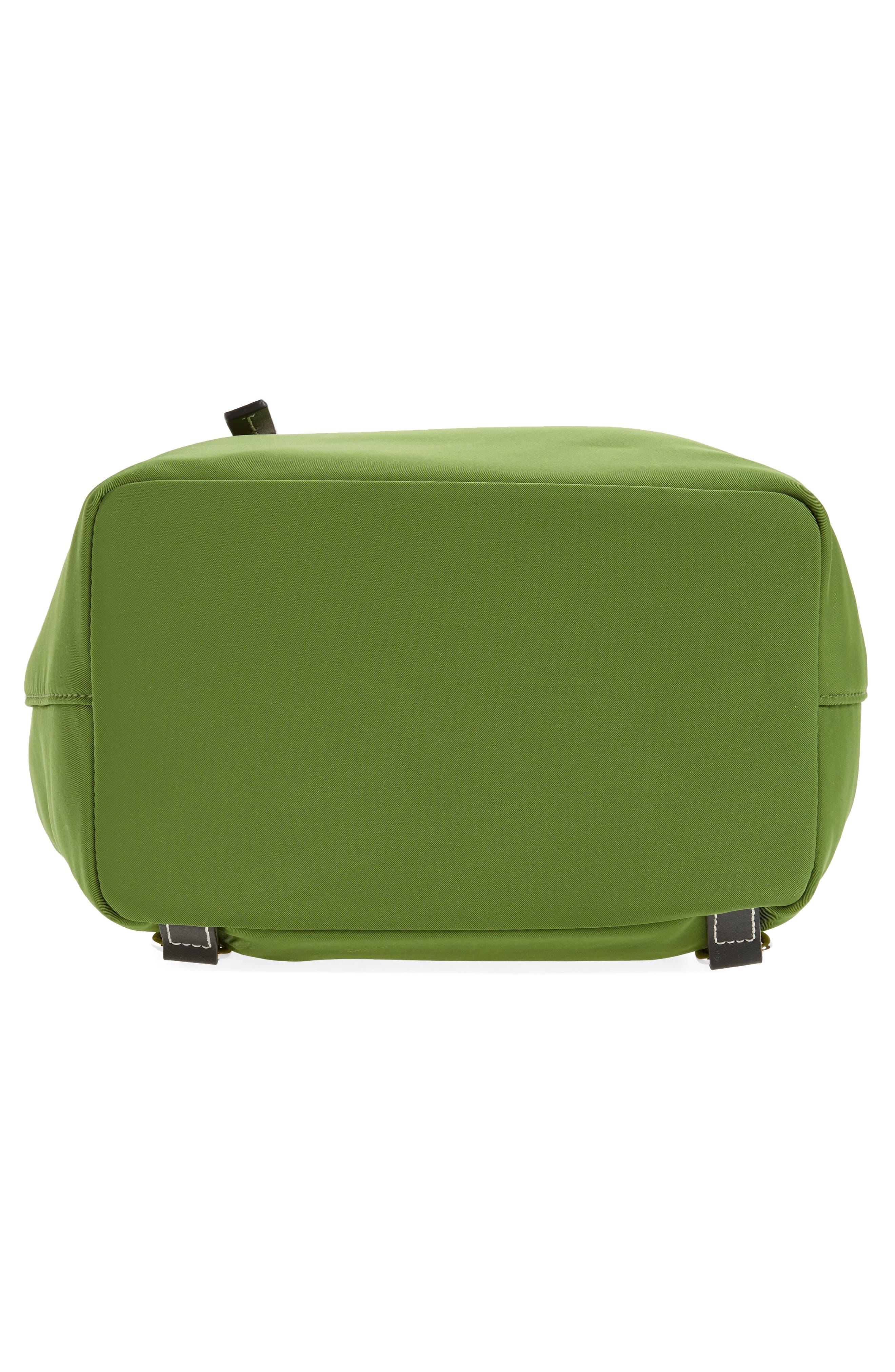 Nylon Backpack,                             Alternate thumbnail 5, color,                             Grass