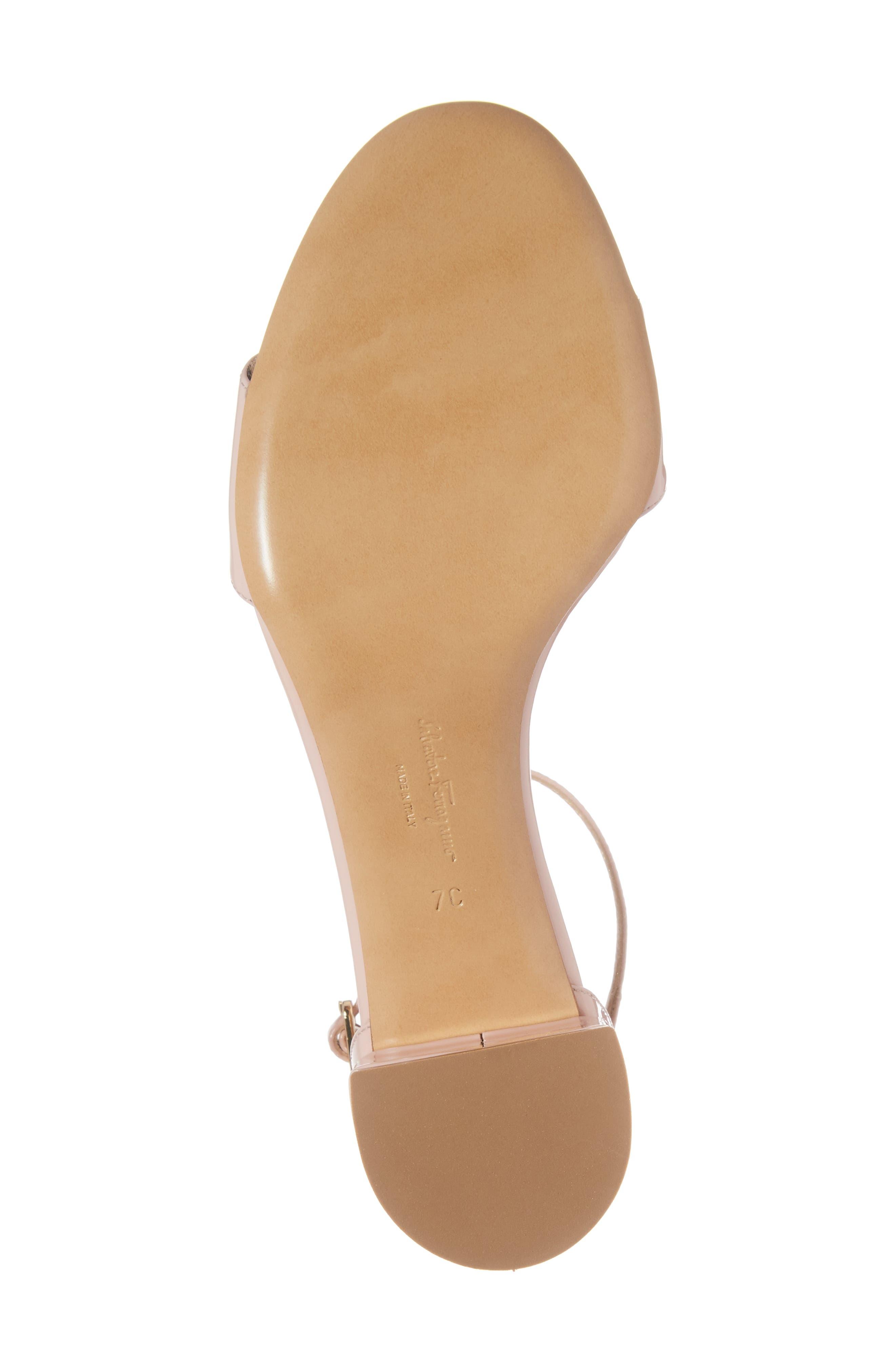 Gavina Ankle Strap Sandal,                             Alternate thumbnail 6, color,                             Bon Bon Pink