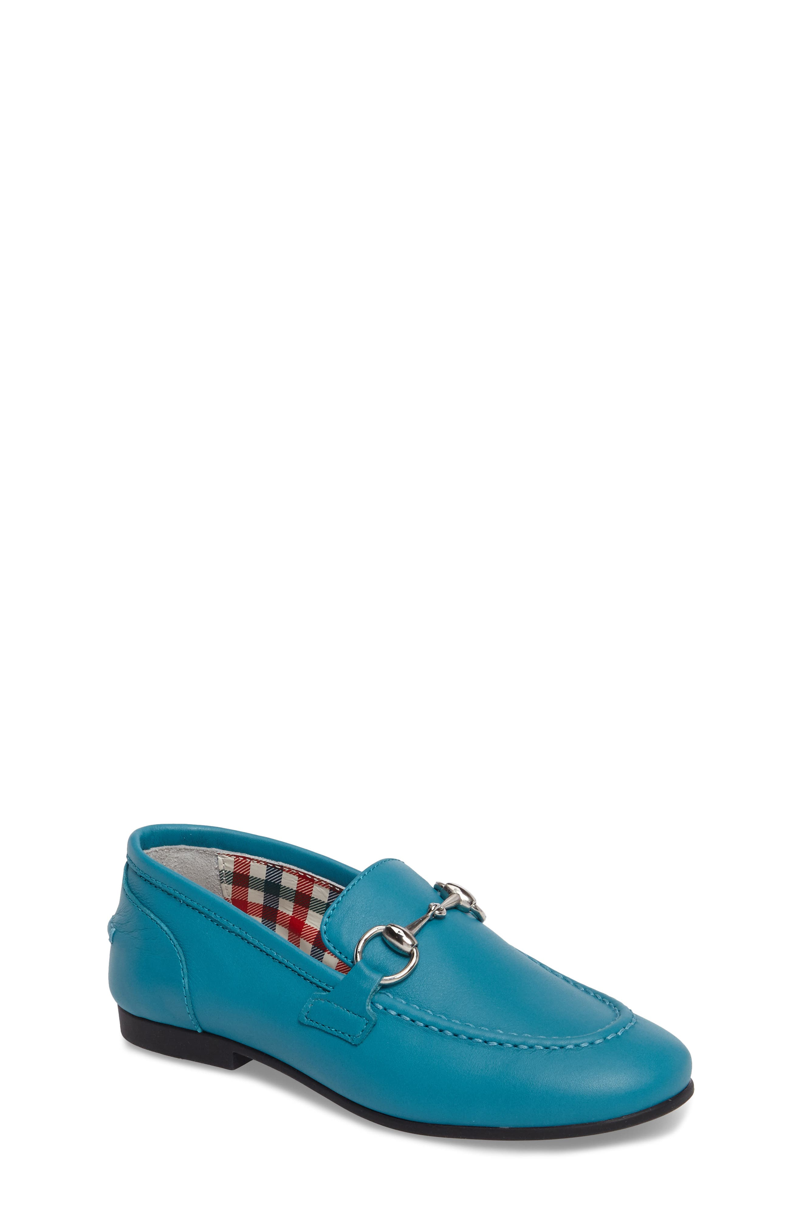 Alternate Image 1 Selected - Gucci Jordaan Bit Loafer (Toddler & Little Kid)