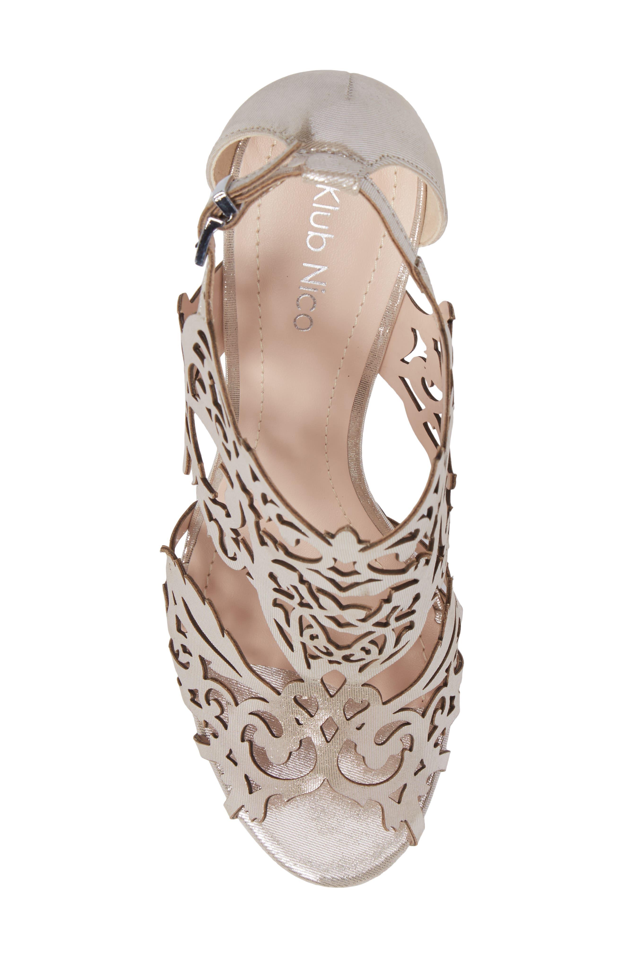Alternate Image 5  - Klub Nico Marcela 3 Laser Cutout Sandal (Women)