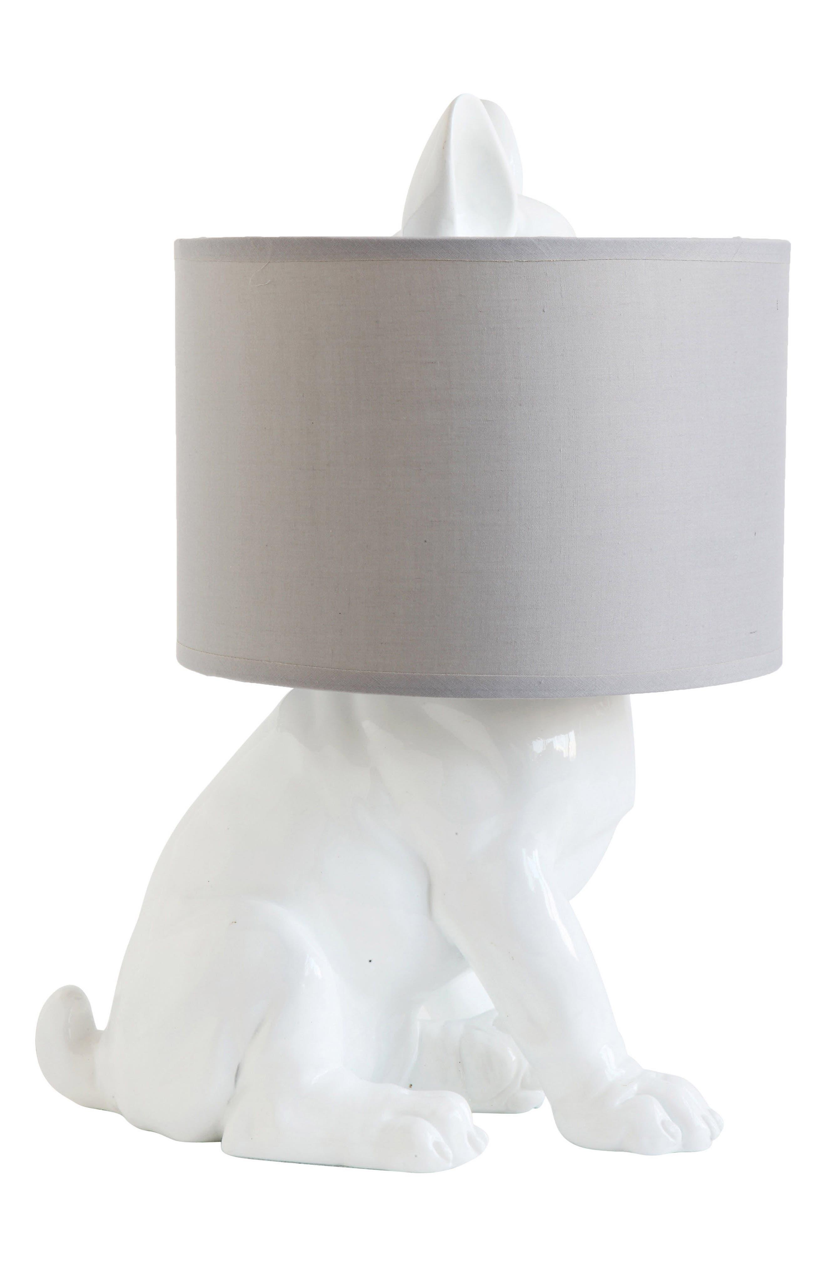 Main Image - Creative Co-Op Dog Lamp