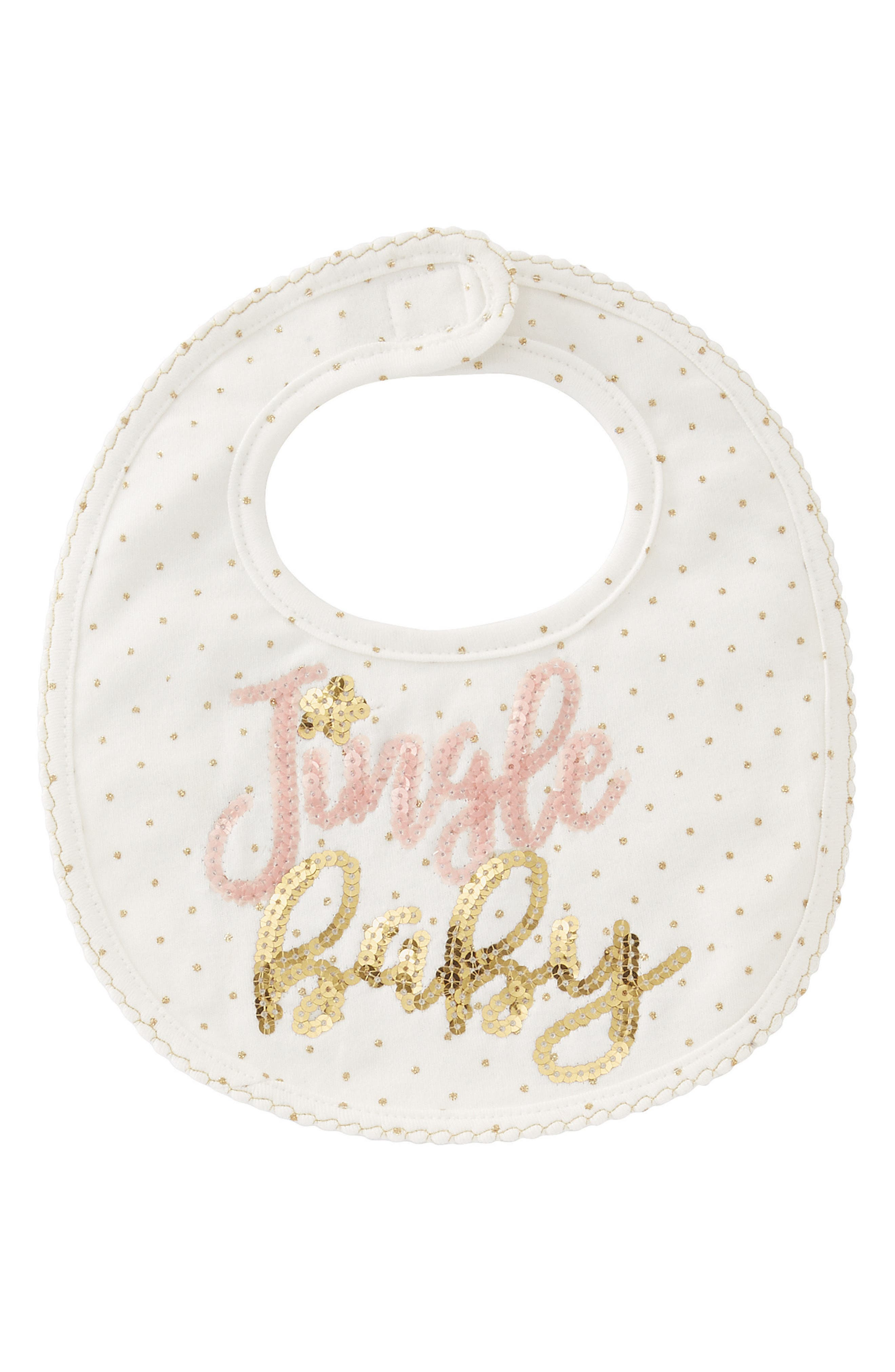 Mud Pie Jingle Baby Bib (Baby)
