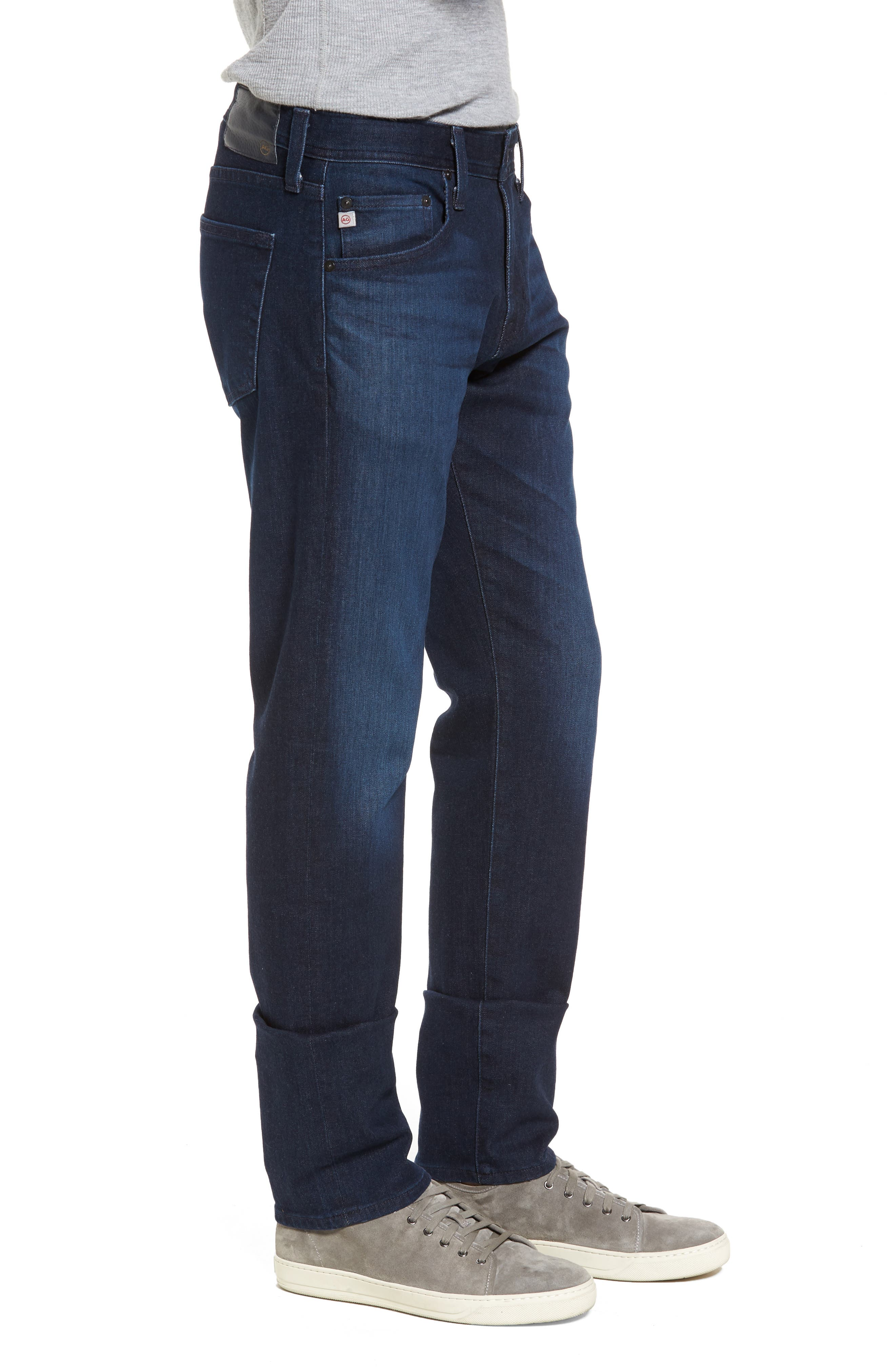 Tellis Slim Leg Jeans,                             Alternate thumbnail 3, color,                             Vibe