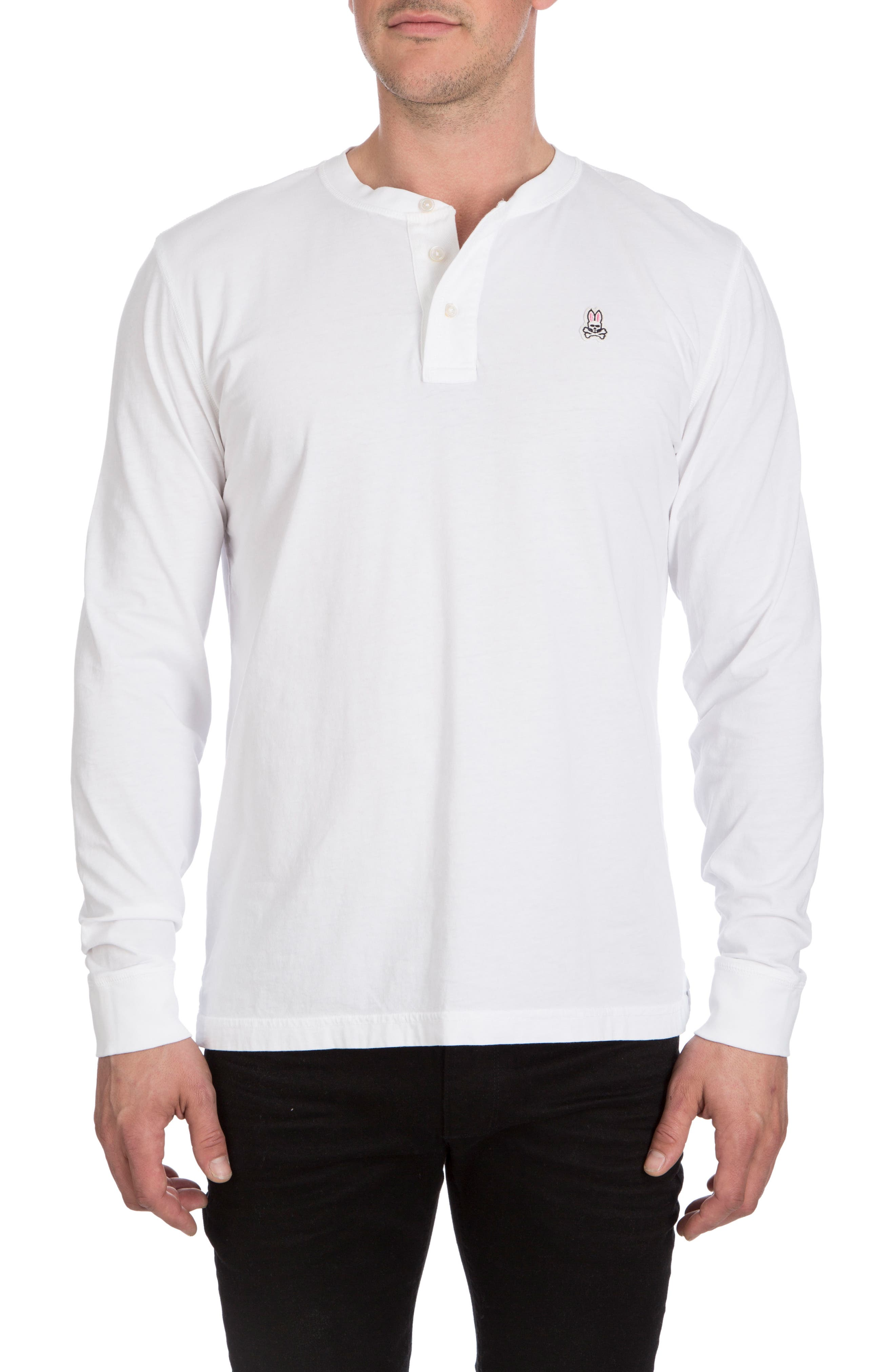Biltmore Henley T-Shirt,                         Main,                         color, White