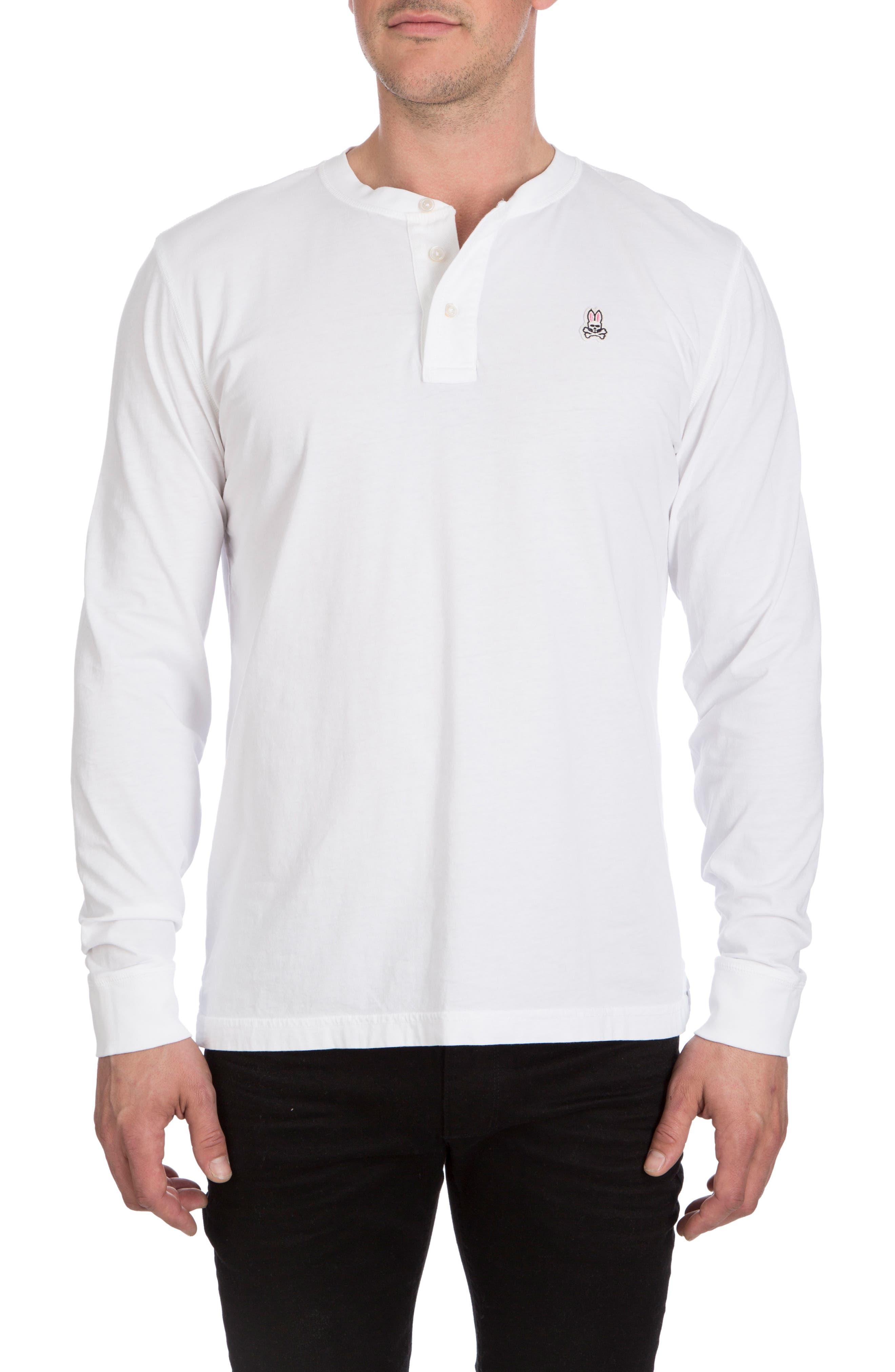 Psycho Bunny Biltmore Henley T-Shirt