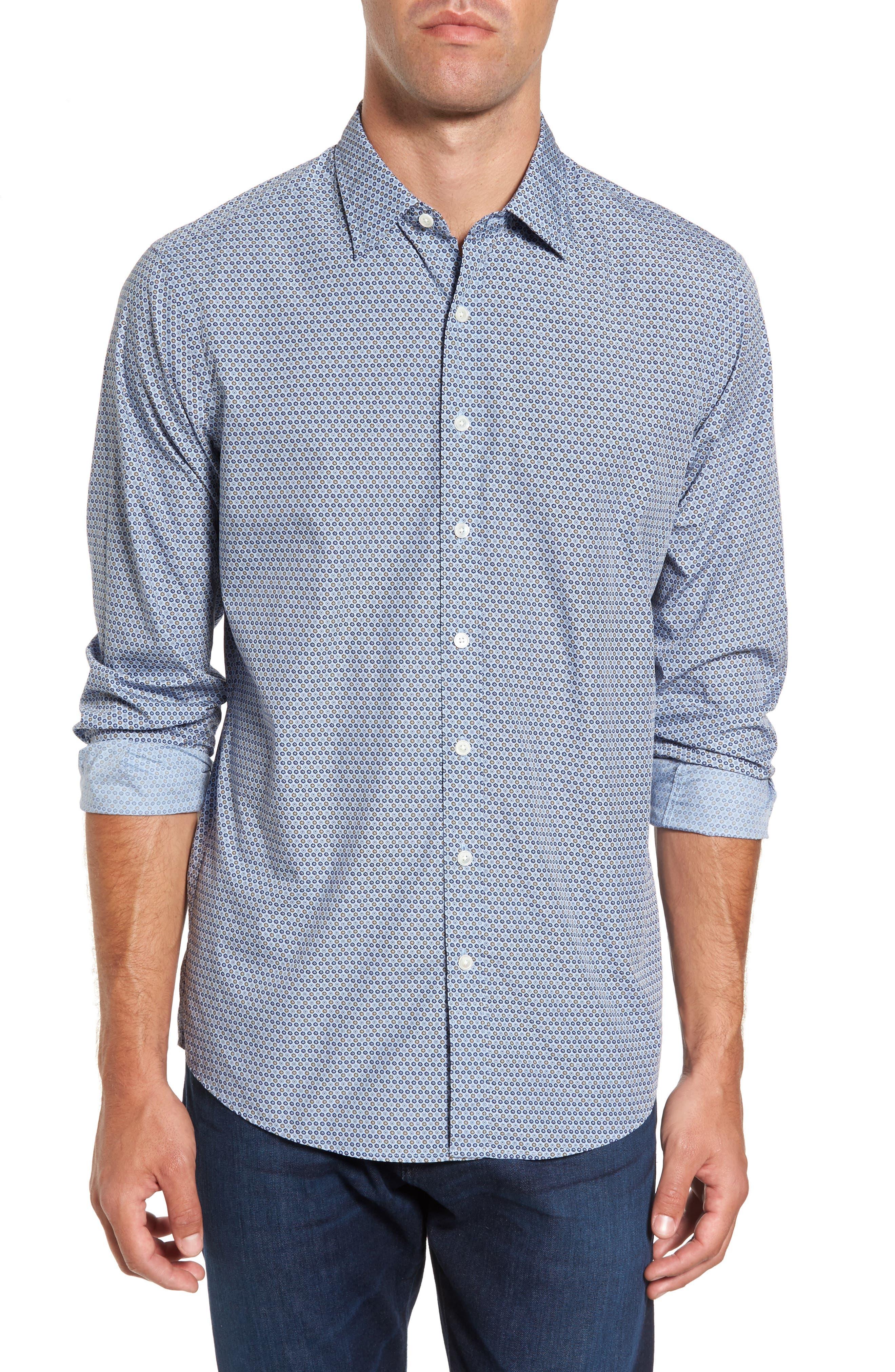 Alternate Image 1 Selected - Rodd & Gunn Horseshoe Bay Sports Fit Print Sport Shirt