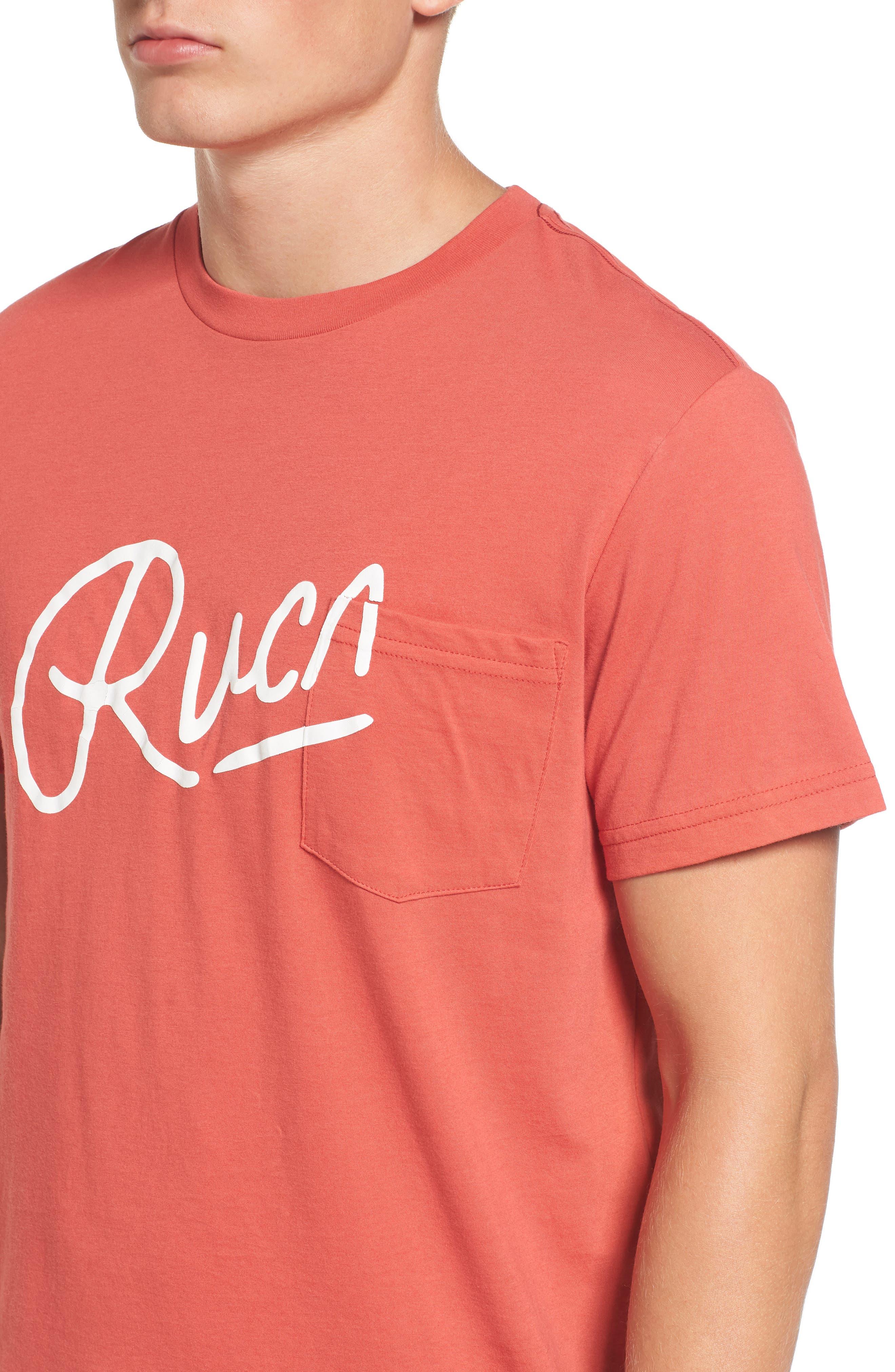 Alternate Image 4  - RVCA Mowgli Logo T-Shirt