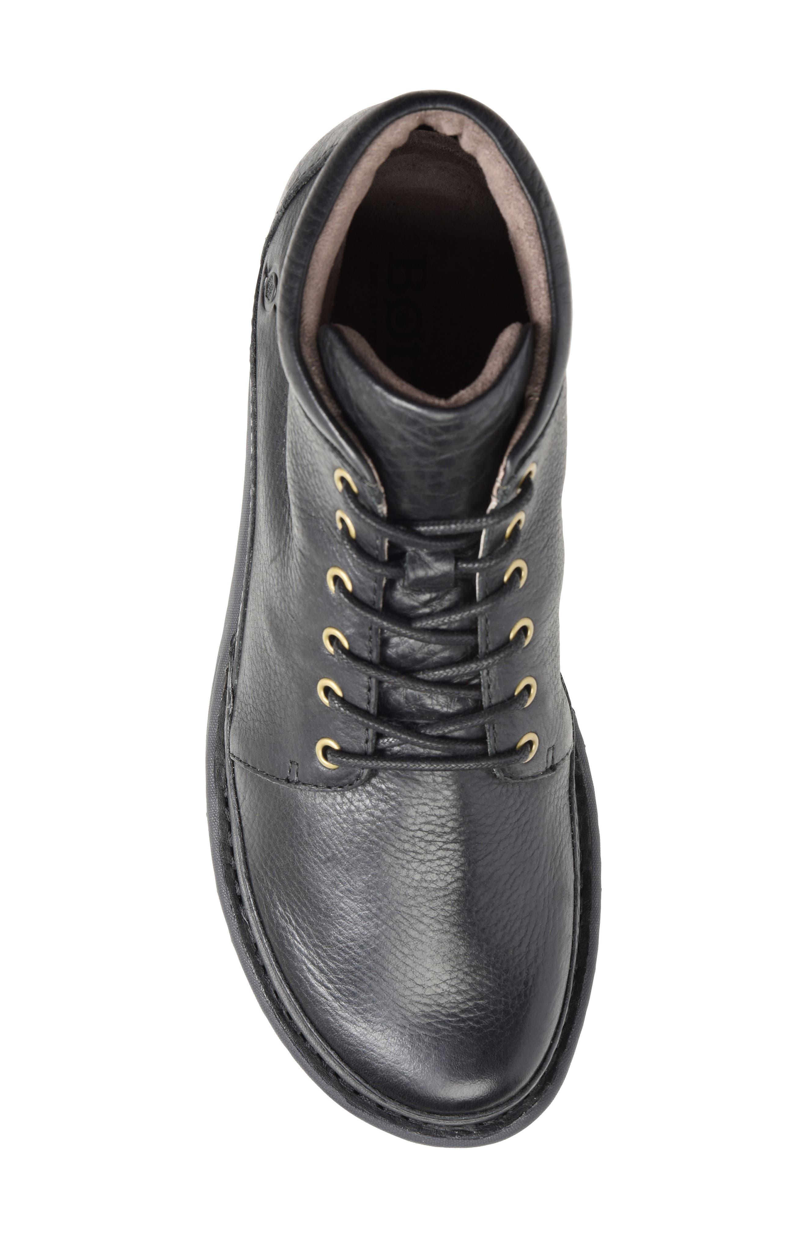 Nigel Low Boot,                             Alternate thumbnail 5, color,                             Black