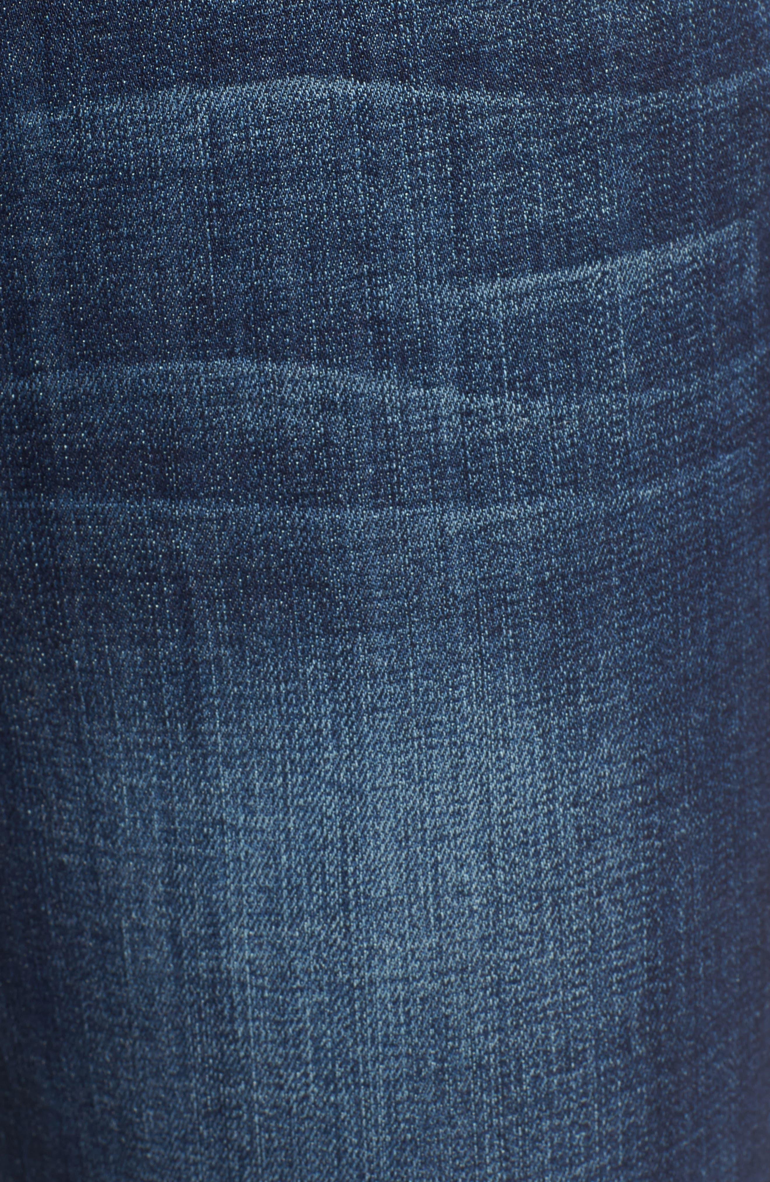 Alternate Image 5  - Wit & Wisdom Tuxedo Stripe Skinny Jeans (Nordstrom Exclusive)
