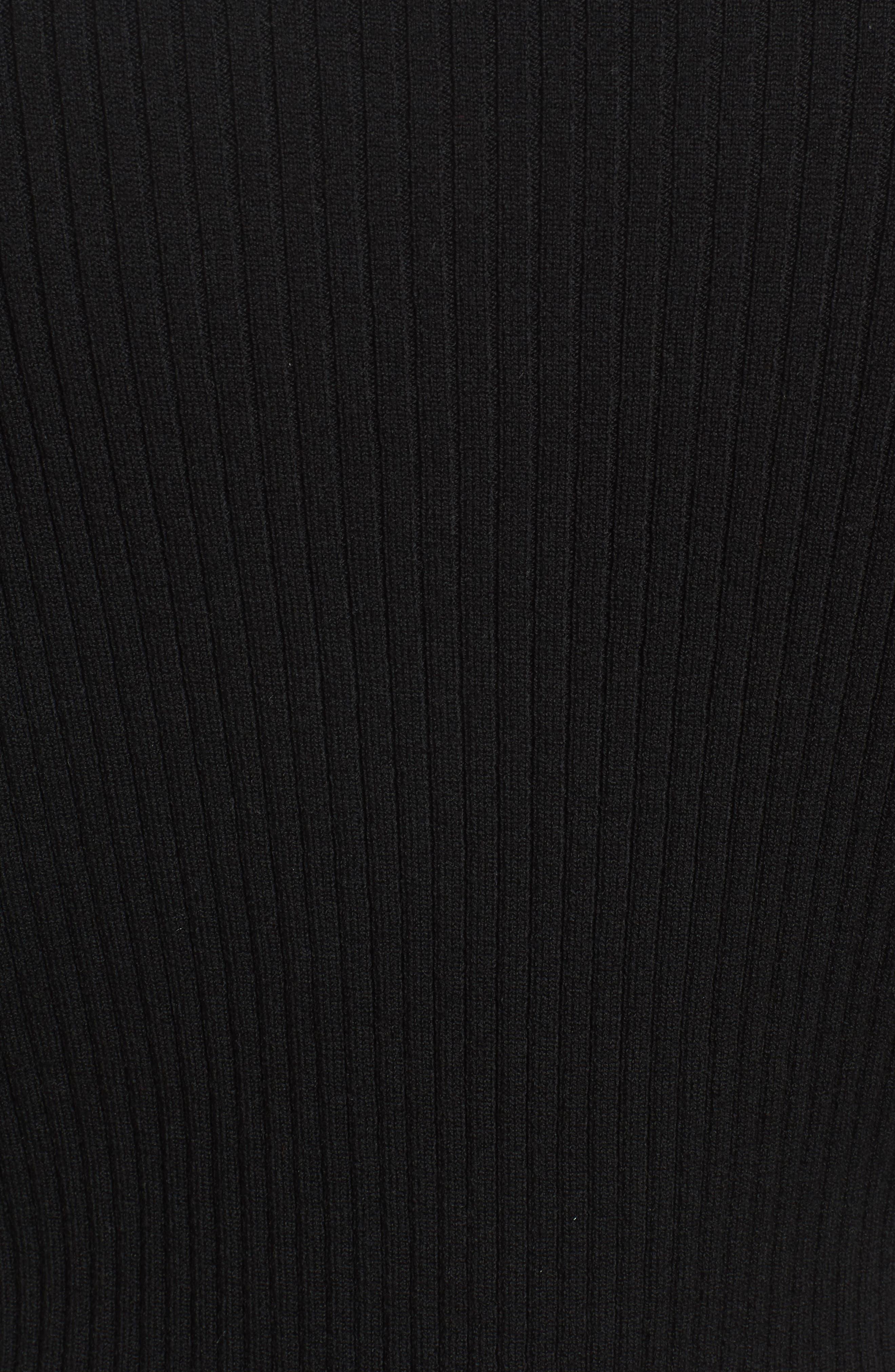 Alternate Image 5  - BOSS Fantasia Ribbed Bell Sleeve Sweater
