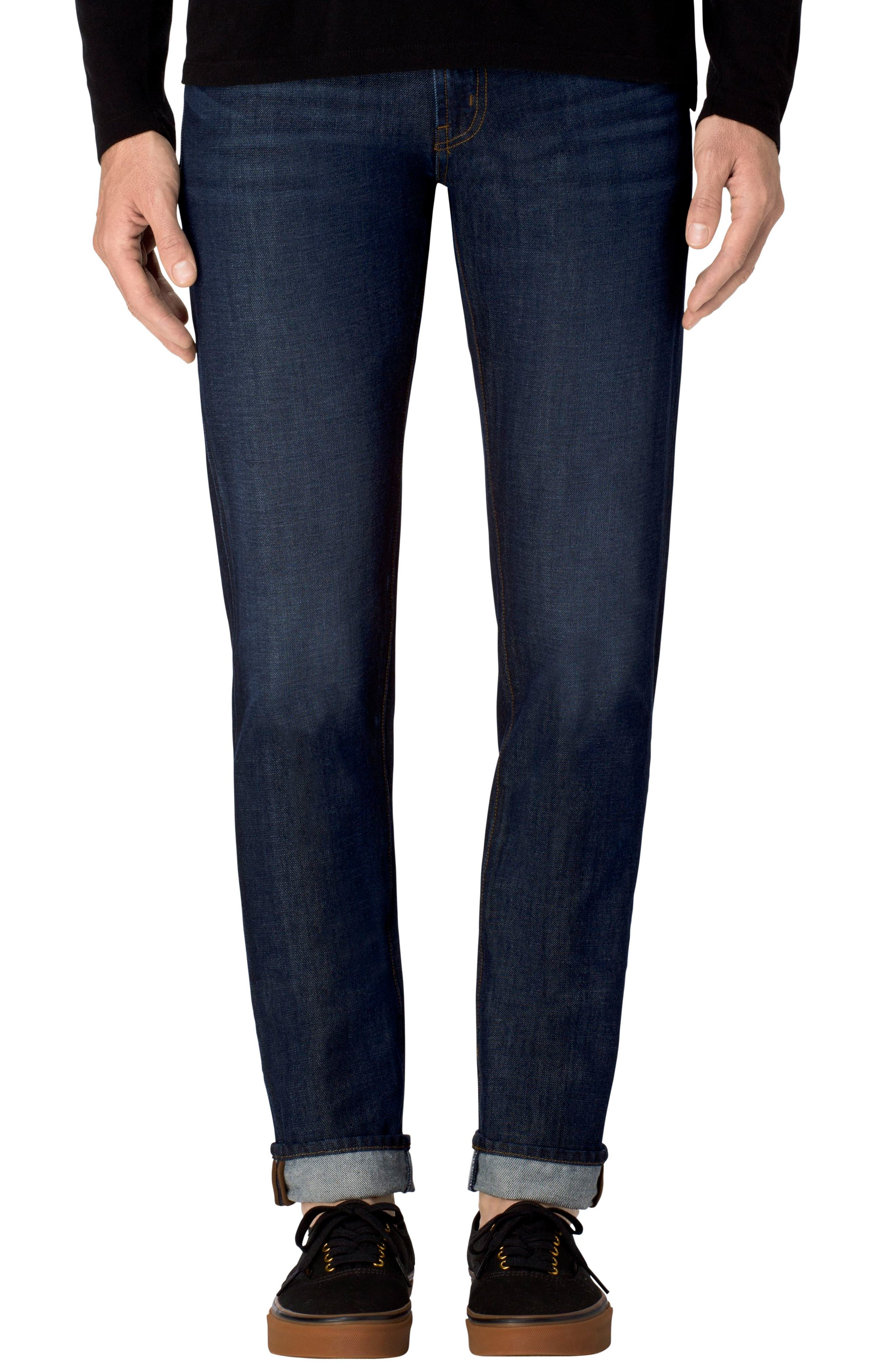 Tyler Slim Fit Jeans,                             Main thumbnail 1, color,                             Blutarii